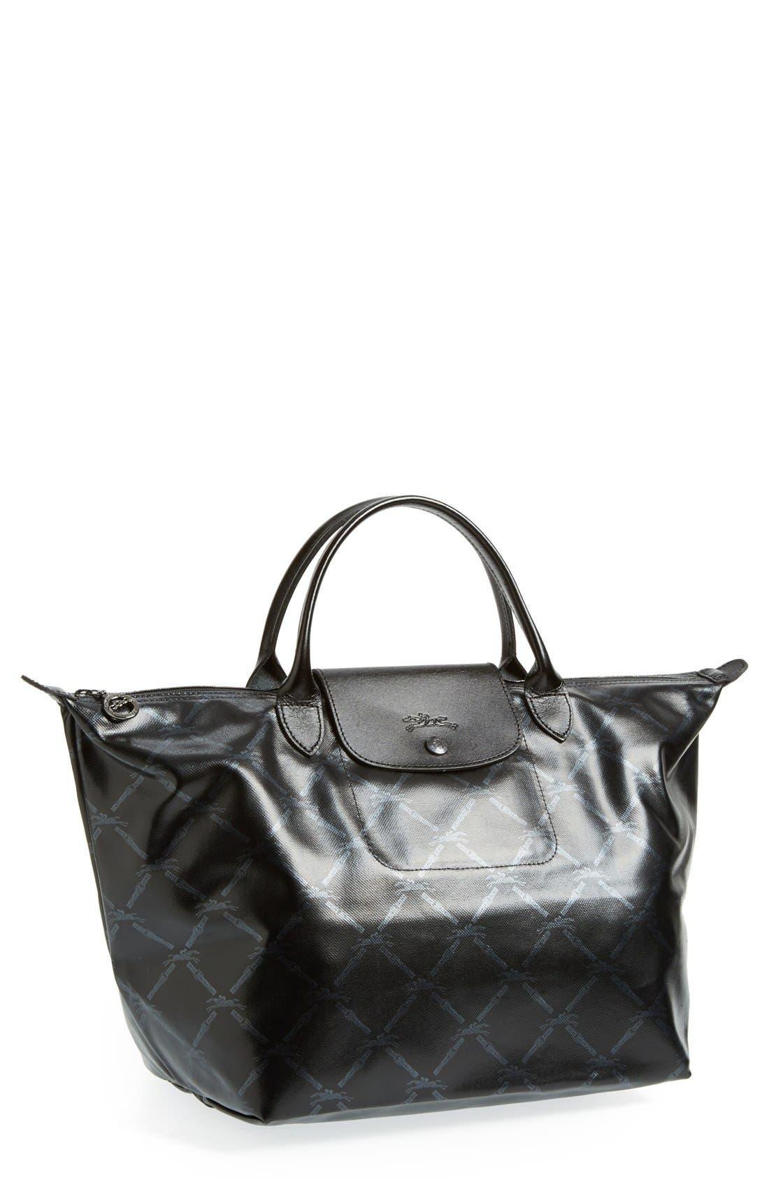'LM Metal' Handbag, Main, color, 001