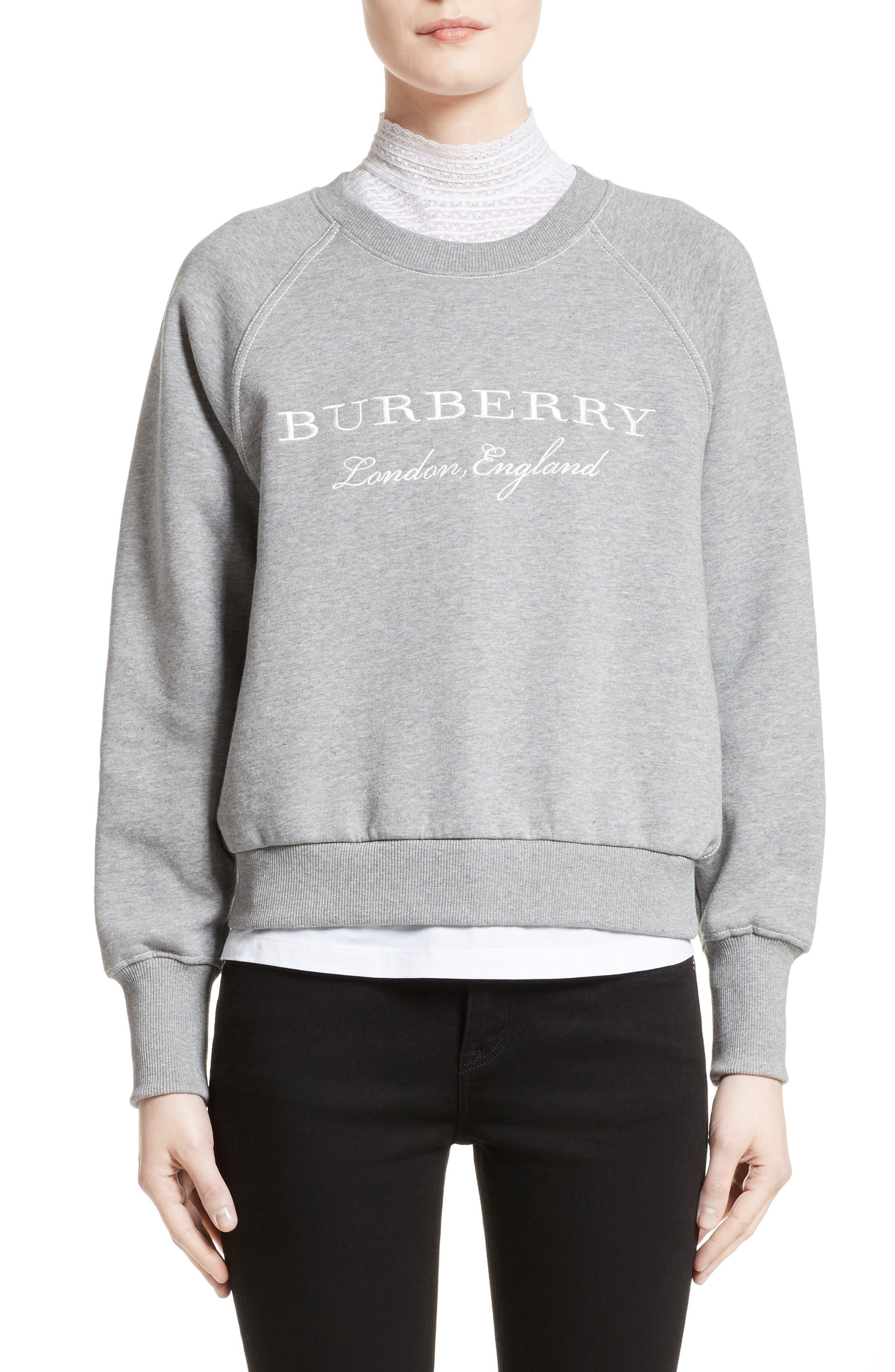 Burberry Torto Embroidered Sweatshirt