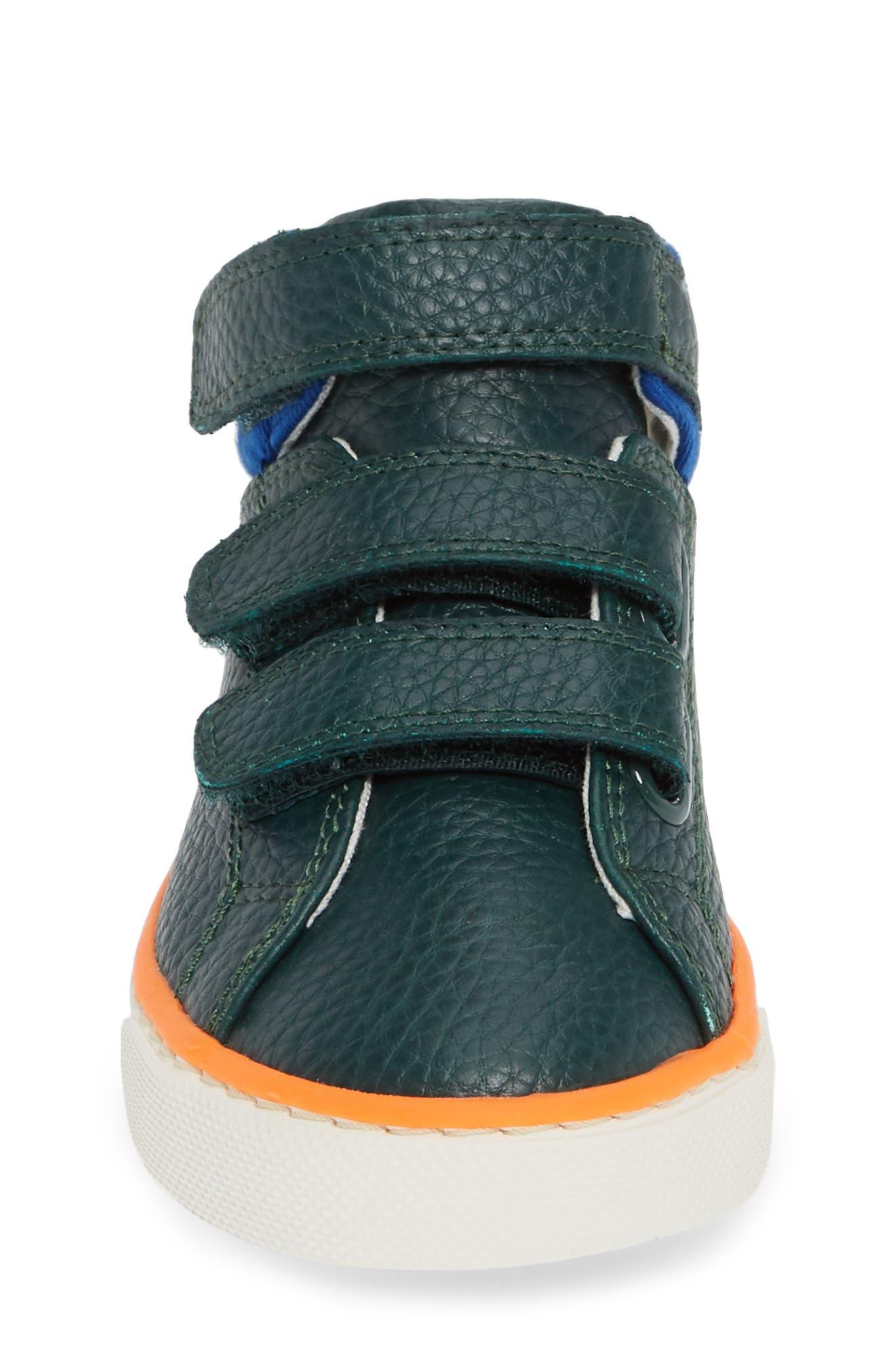 High Top Sneaker,                             Alternate thumbnail 4, color,                             SCOTTS PINE GREEN
