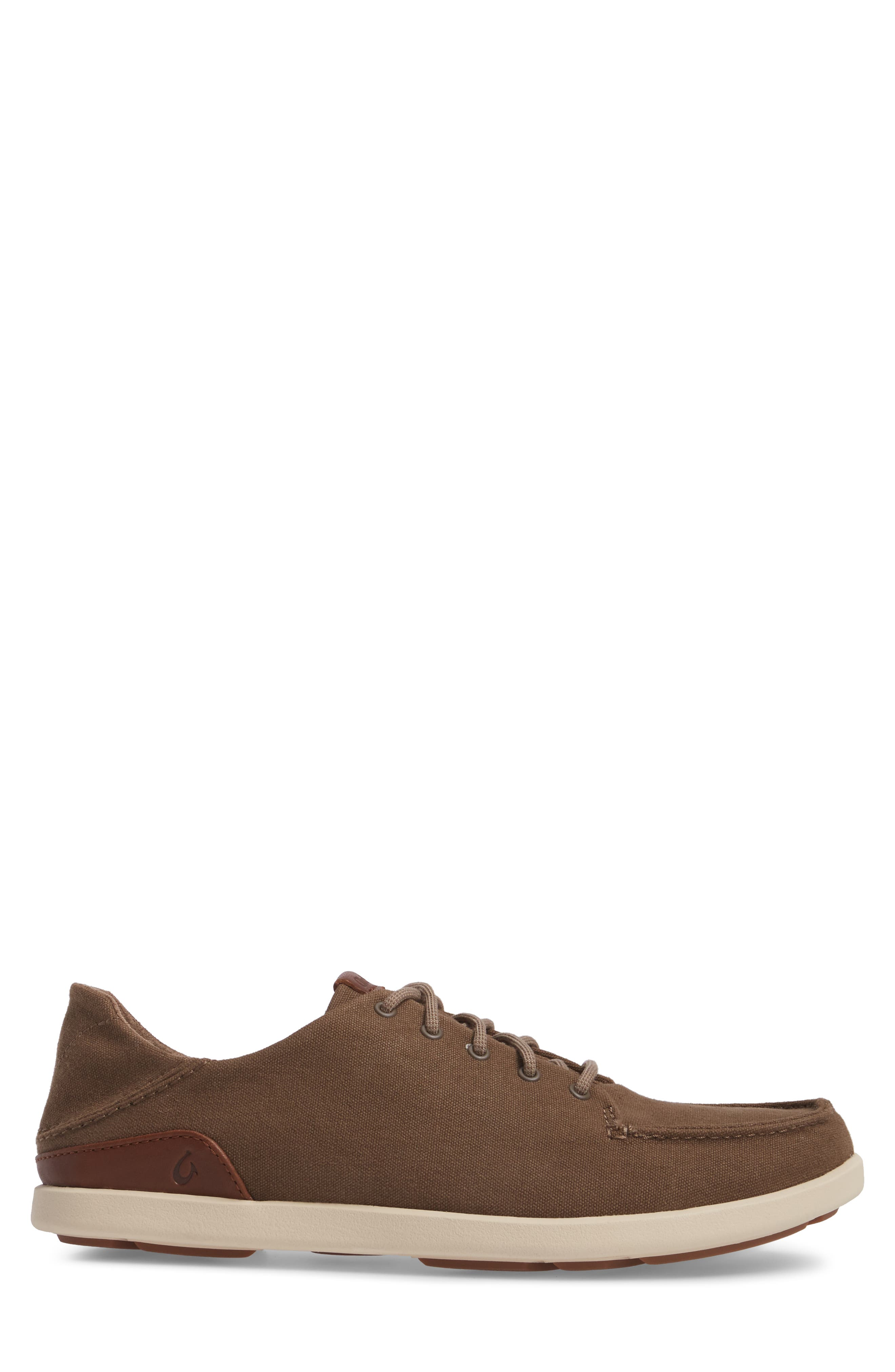 Manoa Sneaker,                             Alternate thumbnail 3, color,                             MUSTANG/ TOFFEE