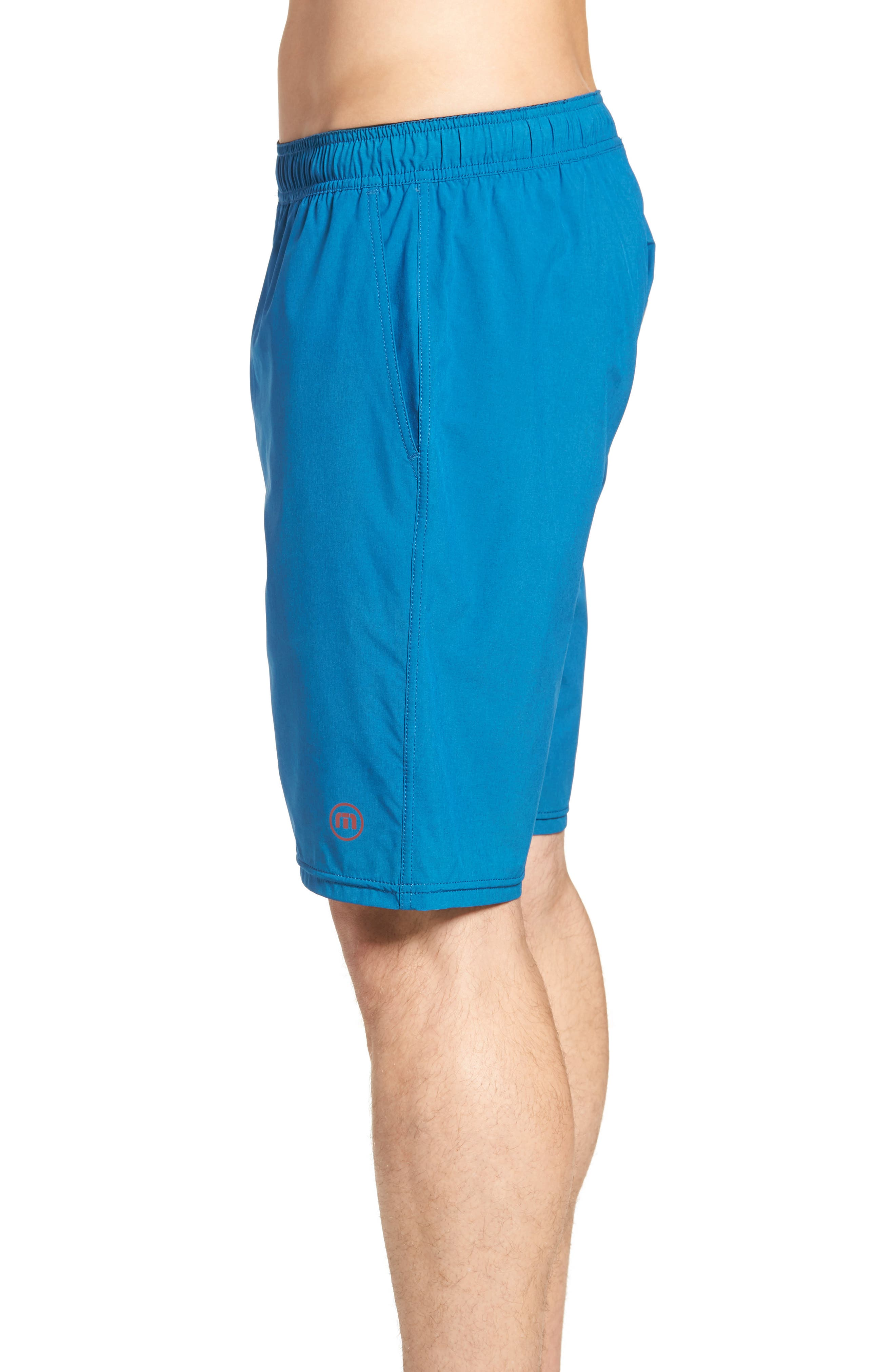 The Pace Performance Shorts,                             Alternate thumbnail 3, color,                             HEATHER FRENCH BLUE