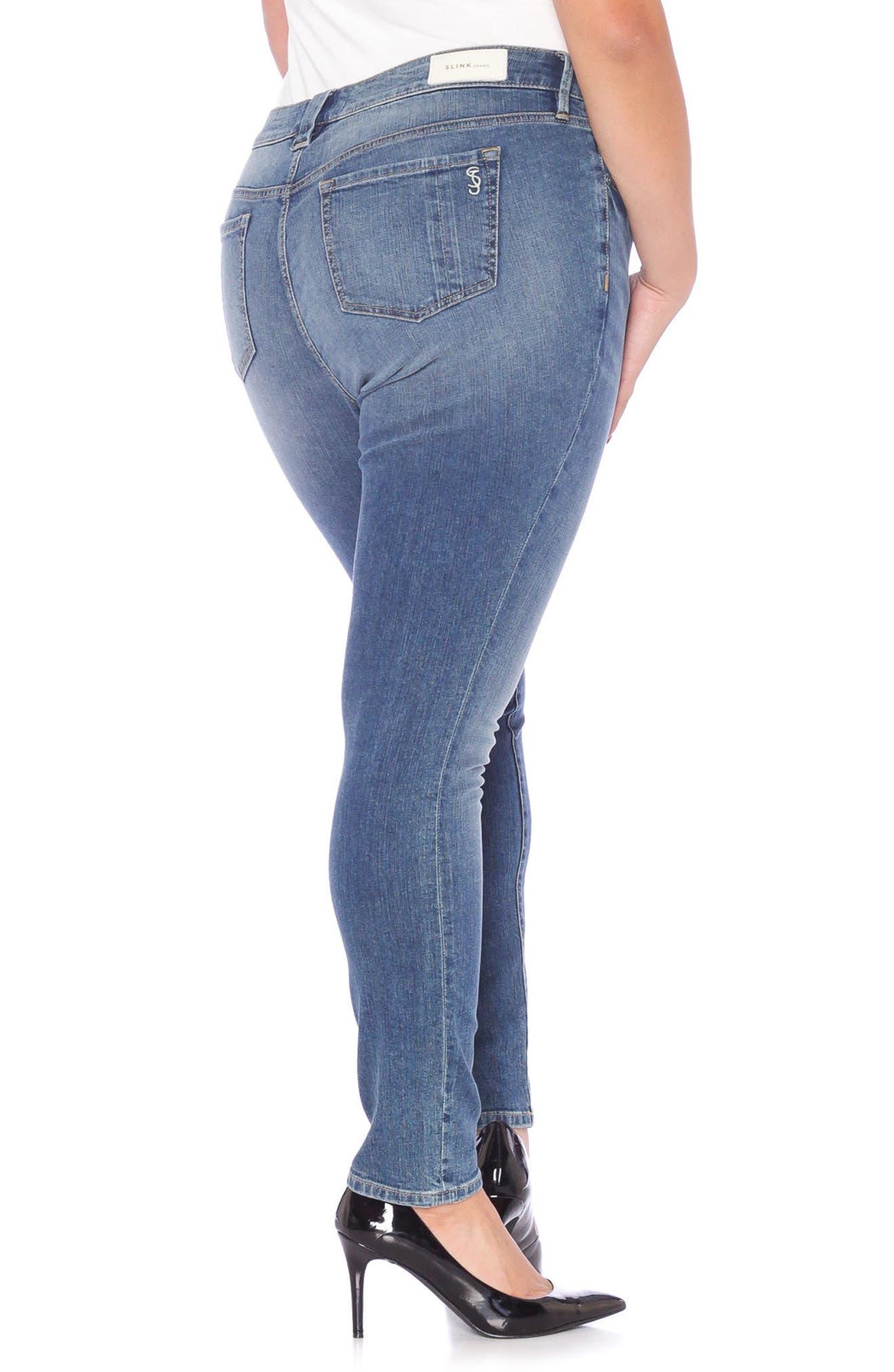 Skinny Jeans,                             Alternate thumbnail 2, color,                             VICTORIA