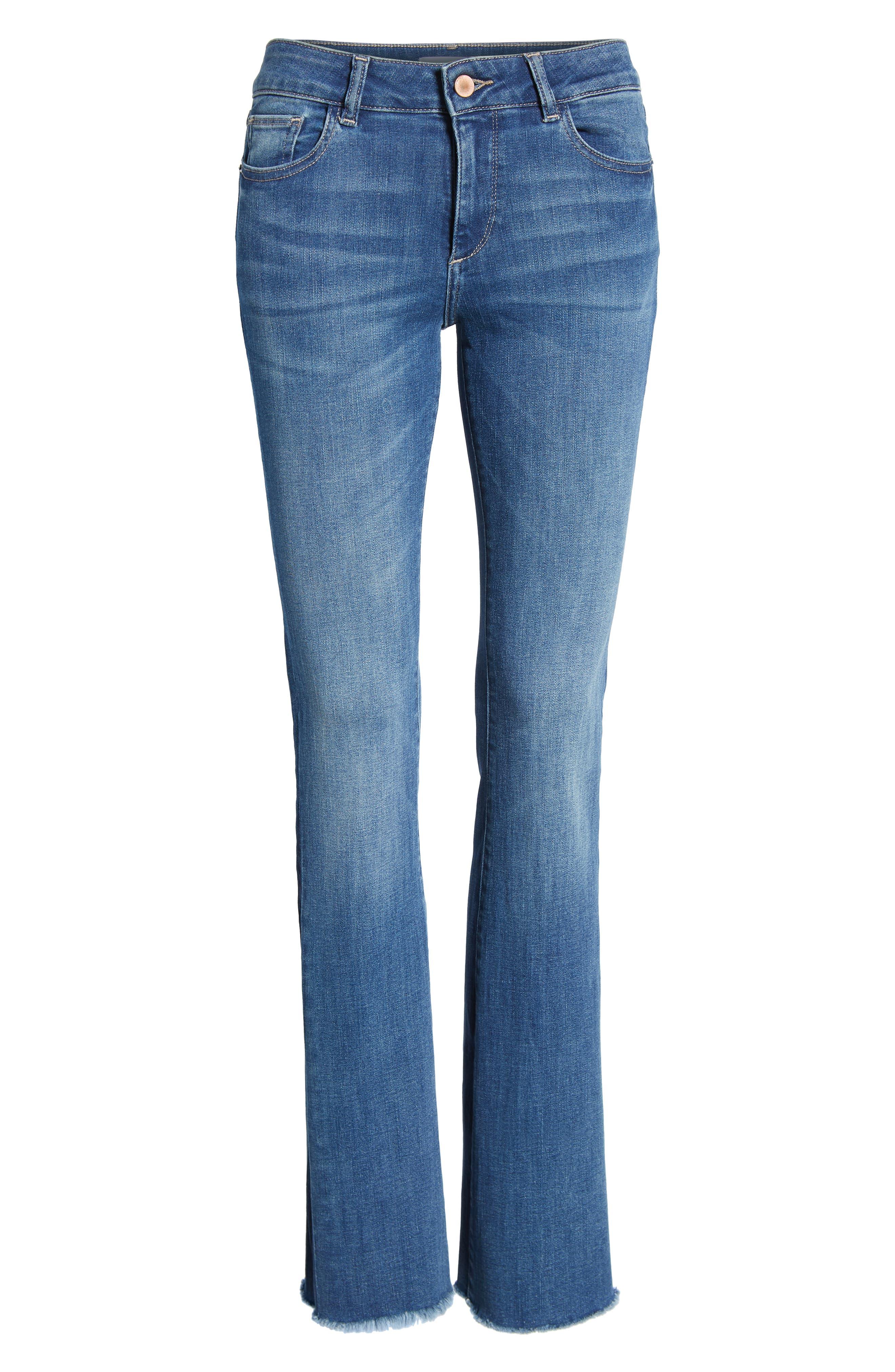 Bridget Instasculpt Bootcut Jeans,                             Alternate thumbnail 7, color,                             425