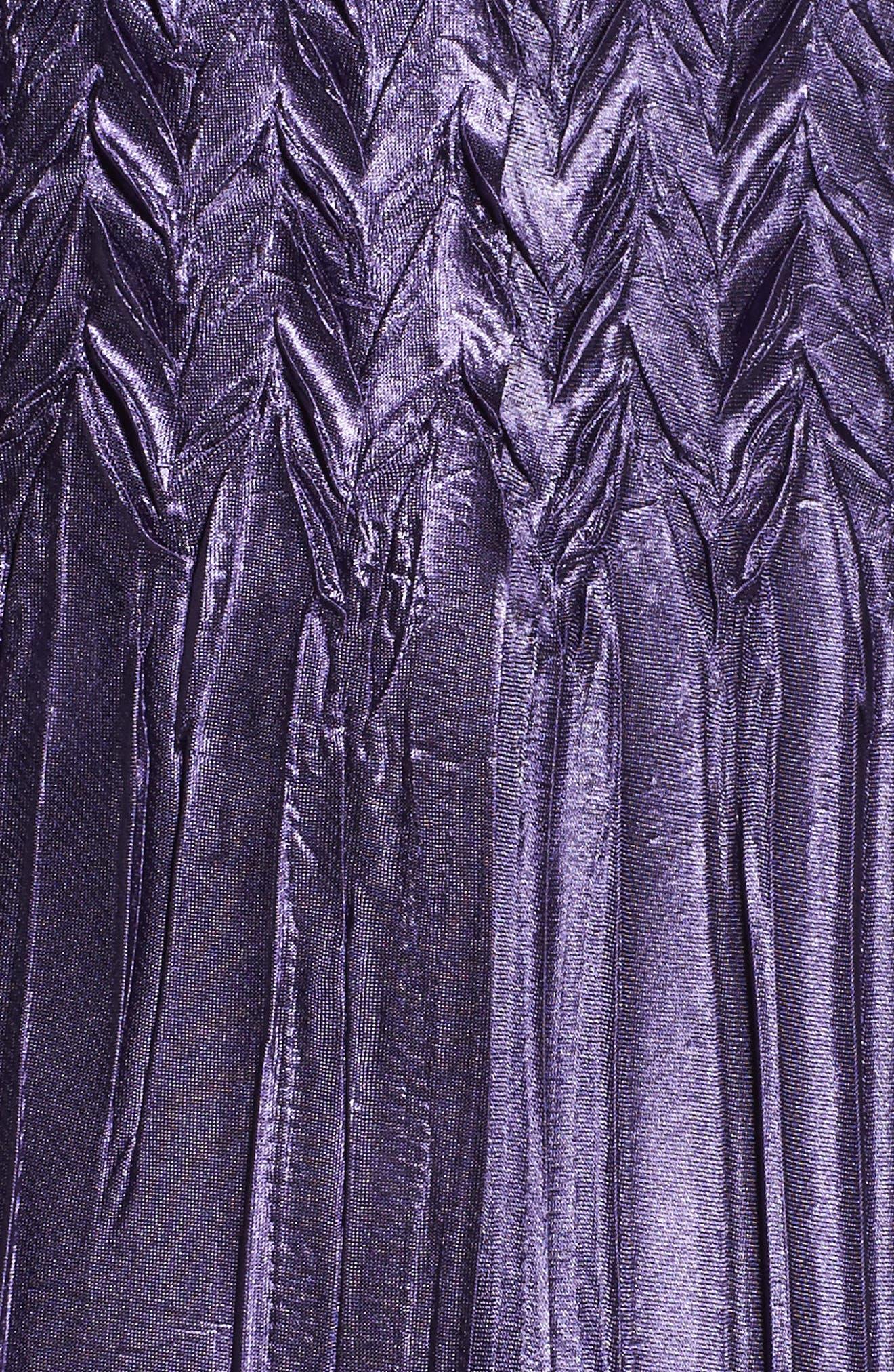 Handkerchief Hem A-Line Dress,                             Alternate thumbnail 5, color,