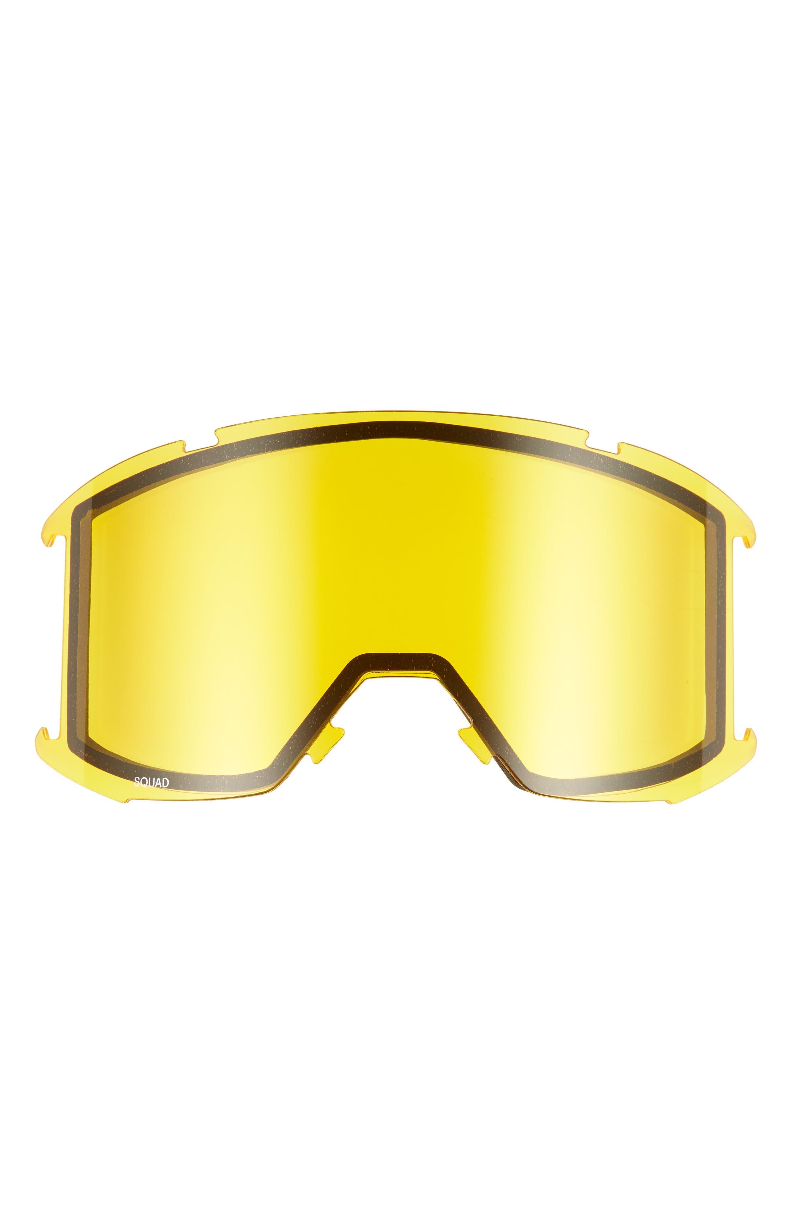 Squad Chromapop 180mm Snow Goggles,                             Alternate thumbnail 4, color,                             CITRON GLOW