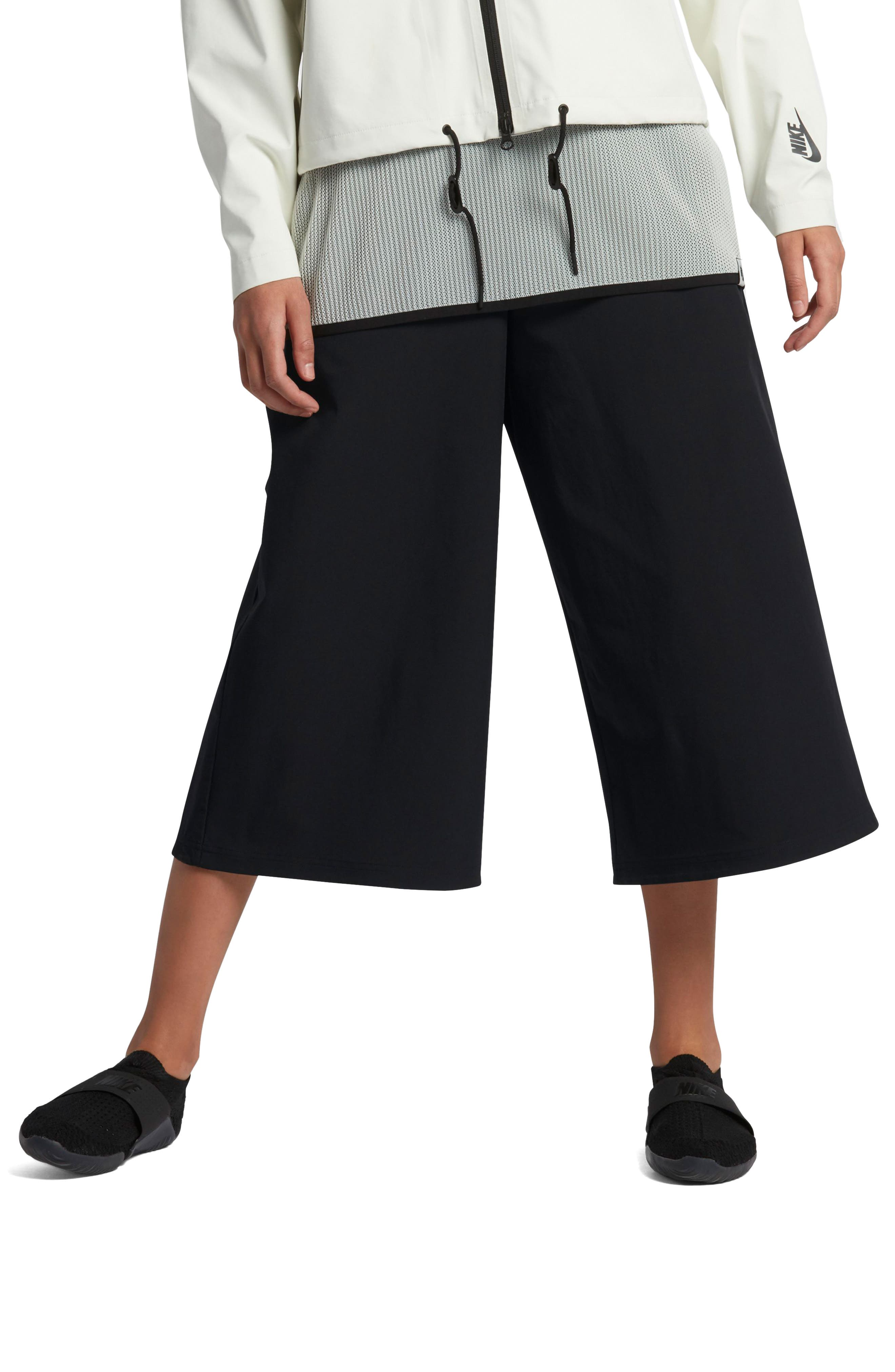 Lab Essentials Culottes,                             Main thumbnail 1, color,