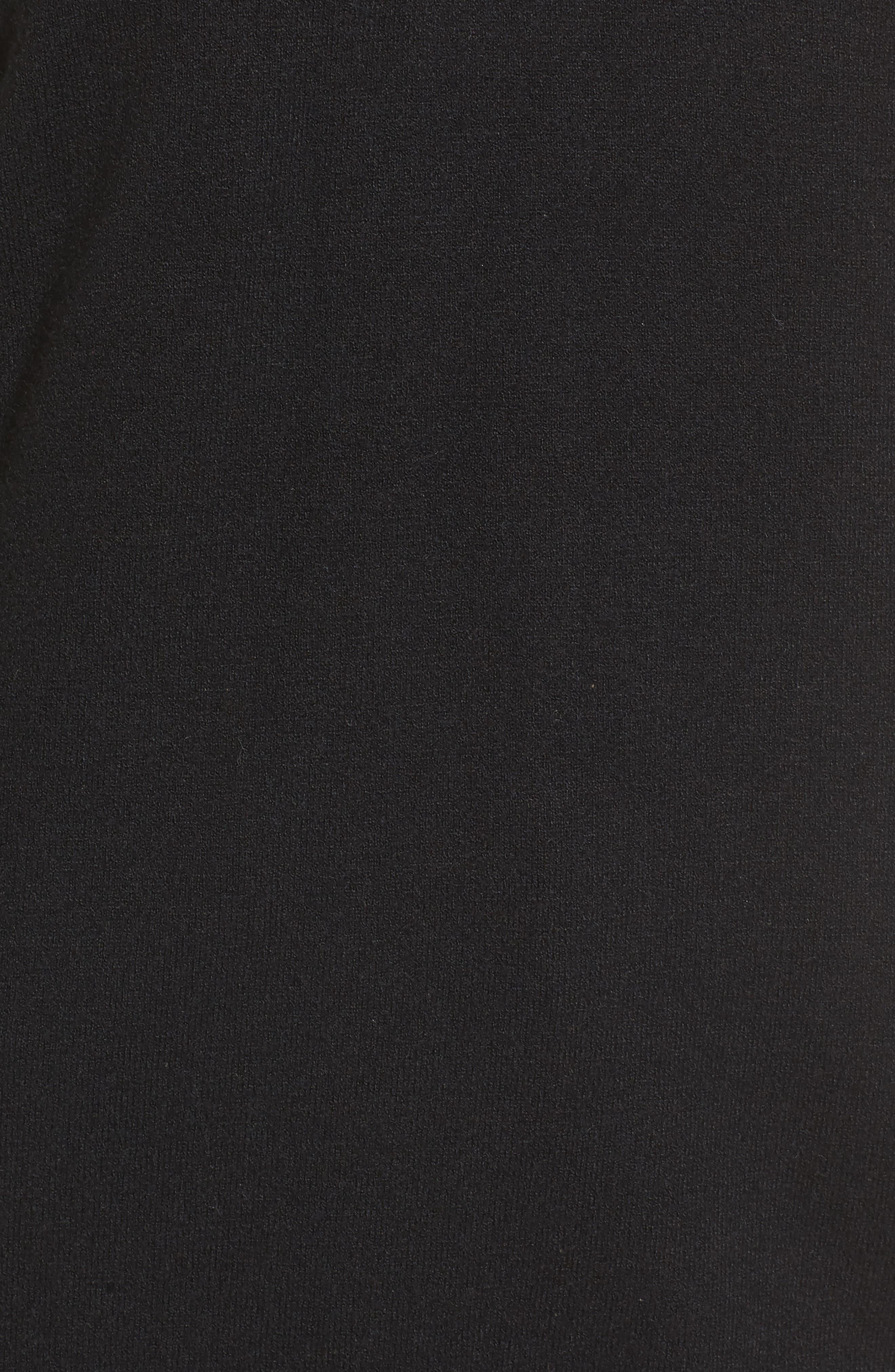 Cutout Detail Sweater,                             Alternate thumbnail 5, color,                             001