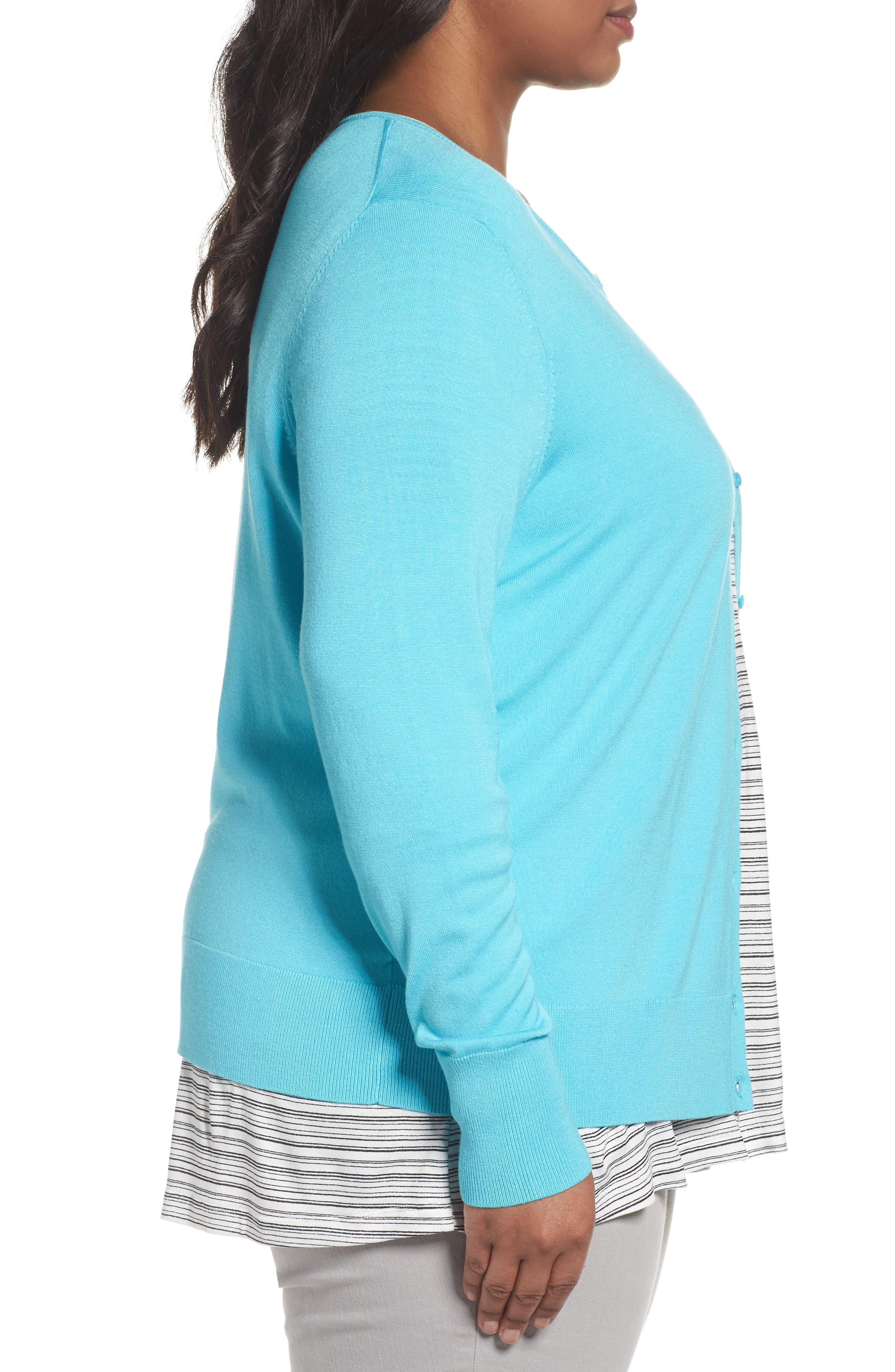 Button Front Cardigan,                             Alternate thumbnail 46, color,