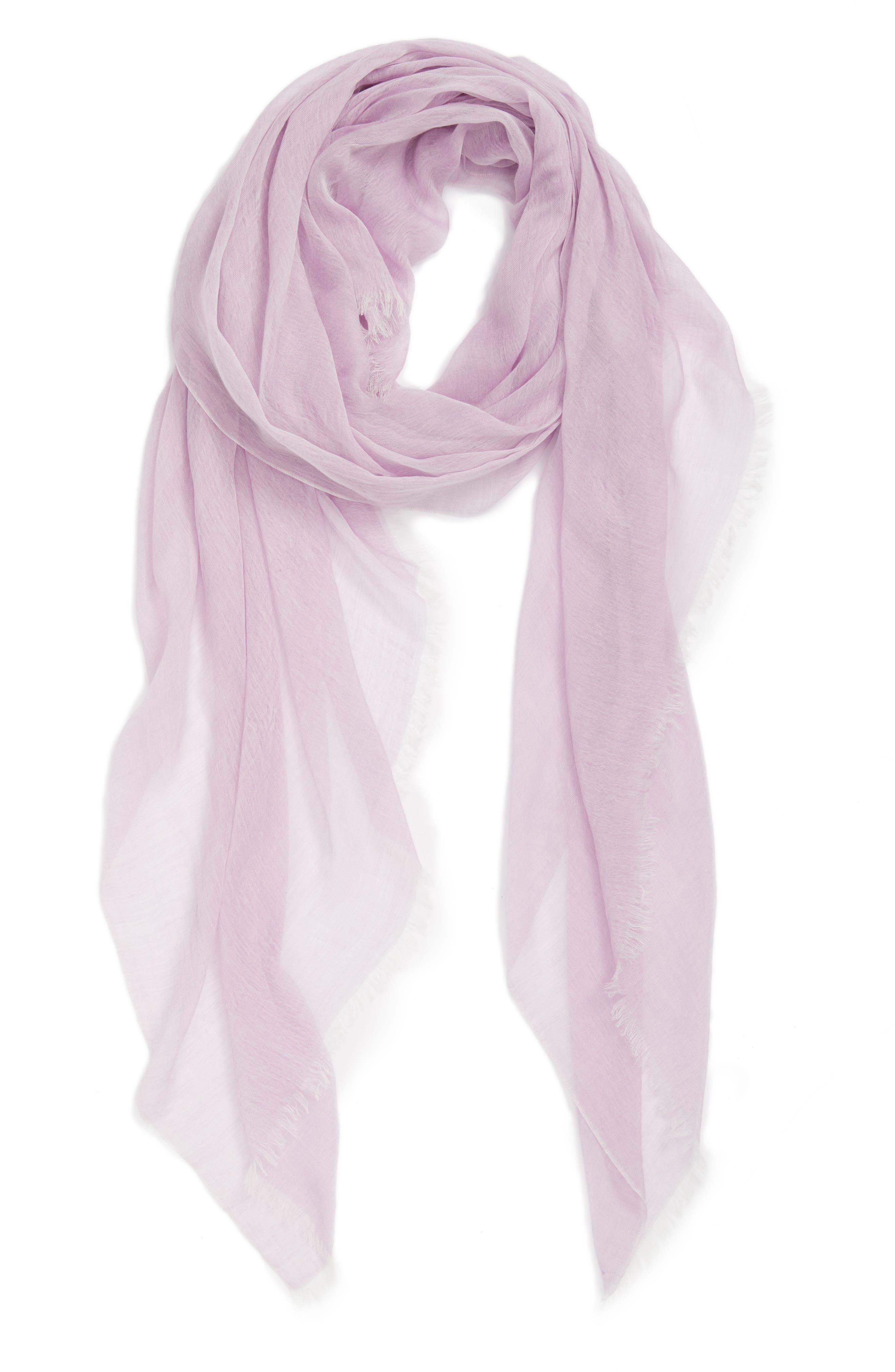 Modal Silk Blend Scarf,                             Alternate thumbnail 43, color,