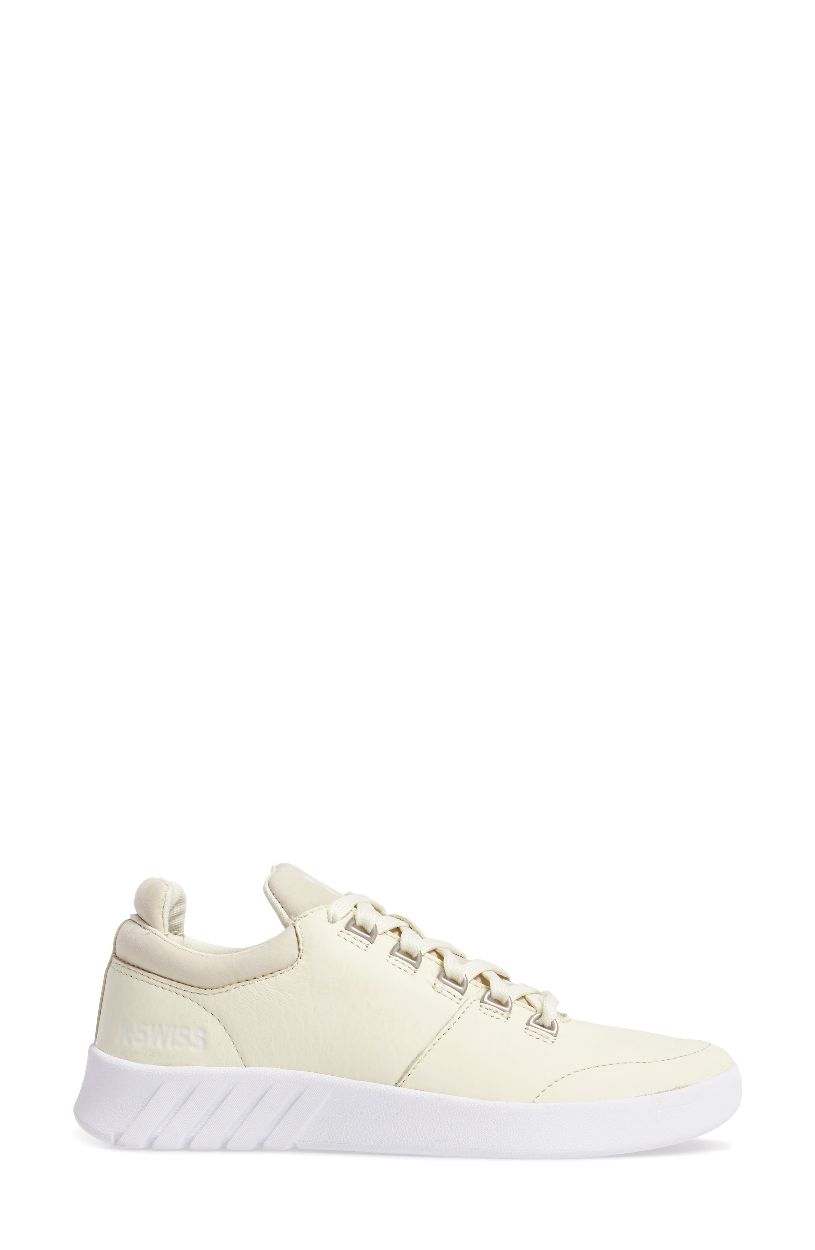 Aero Trainer Sneaker,                             Alternate thumbnail 3, color,                             VANILLA ICE/ WHITE