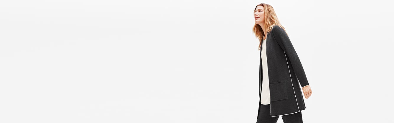 Eileen Fisher women's clothing: look good, feel good.