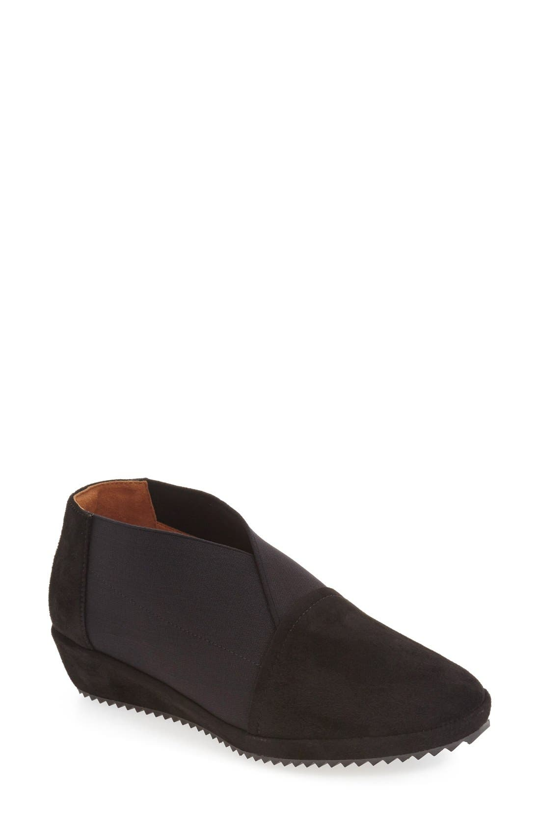 'Bowden' Slip-On Wedge,                             Main thumbnail 1, color,                             001