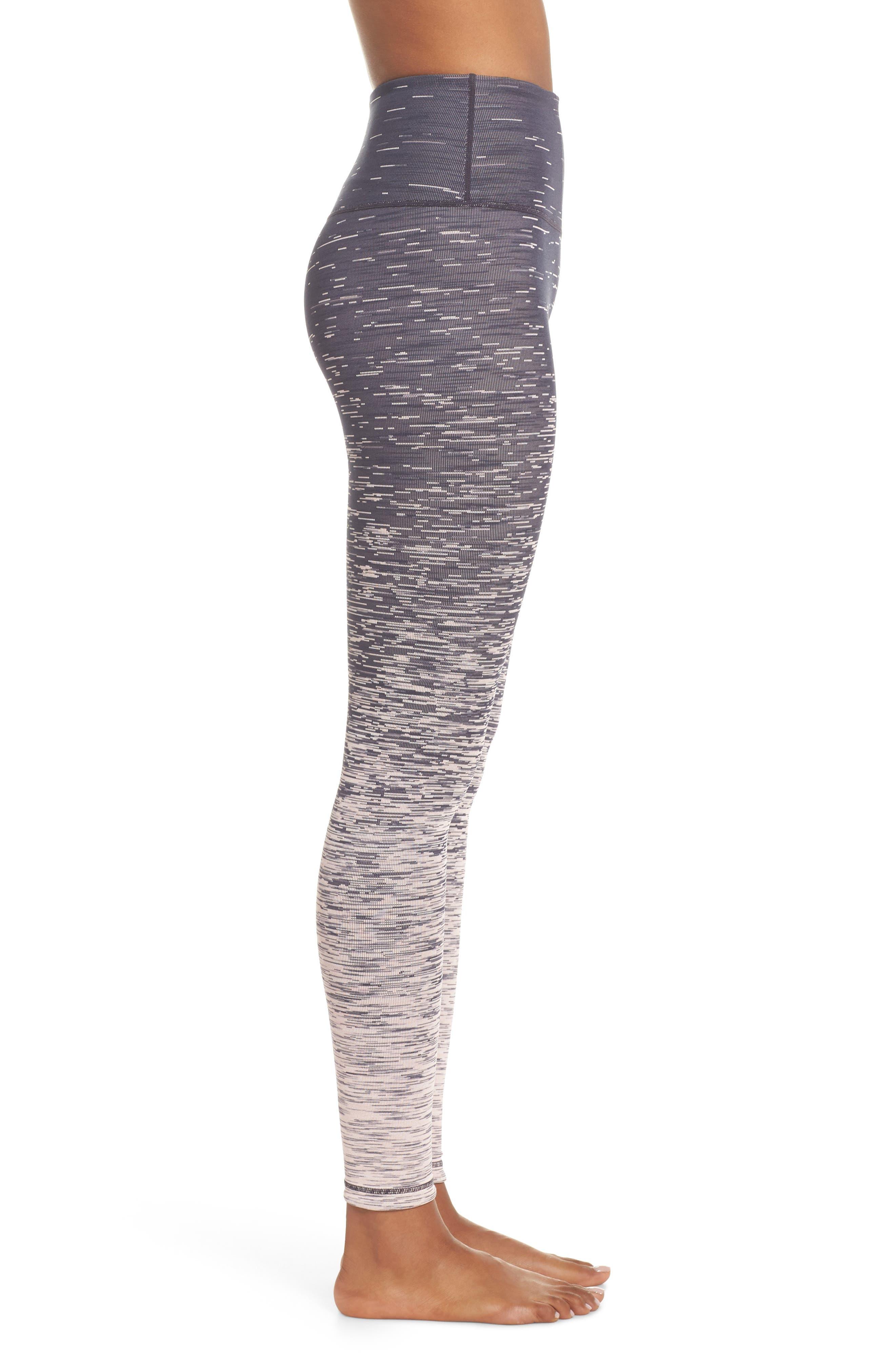 ZELLA,                             Static High Waist Reversible Leggings,                             Alternate thumbnail 3, color,                             680