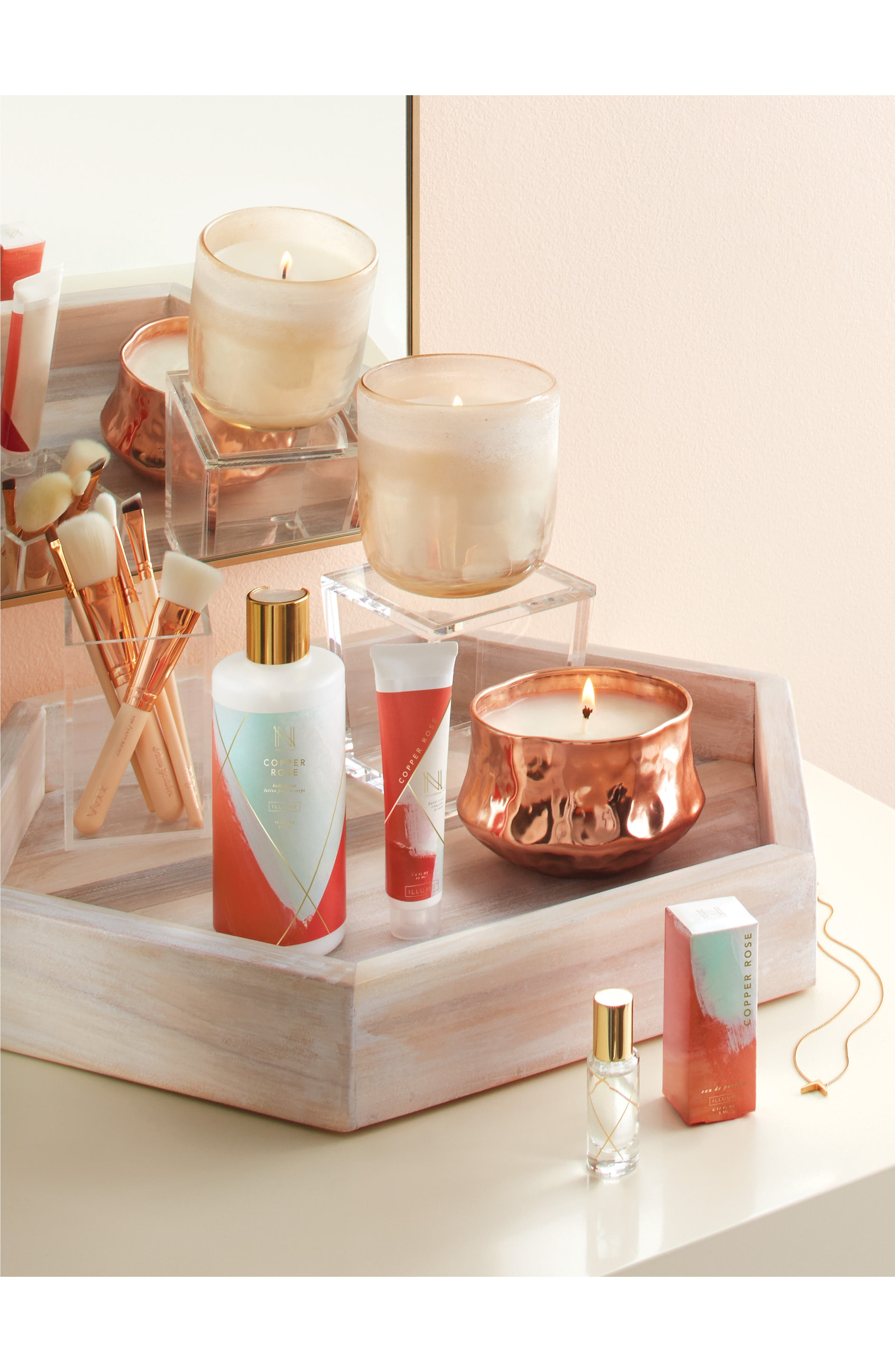 'Talisman' Candle Tin,                             Main thumbnail 4, color,