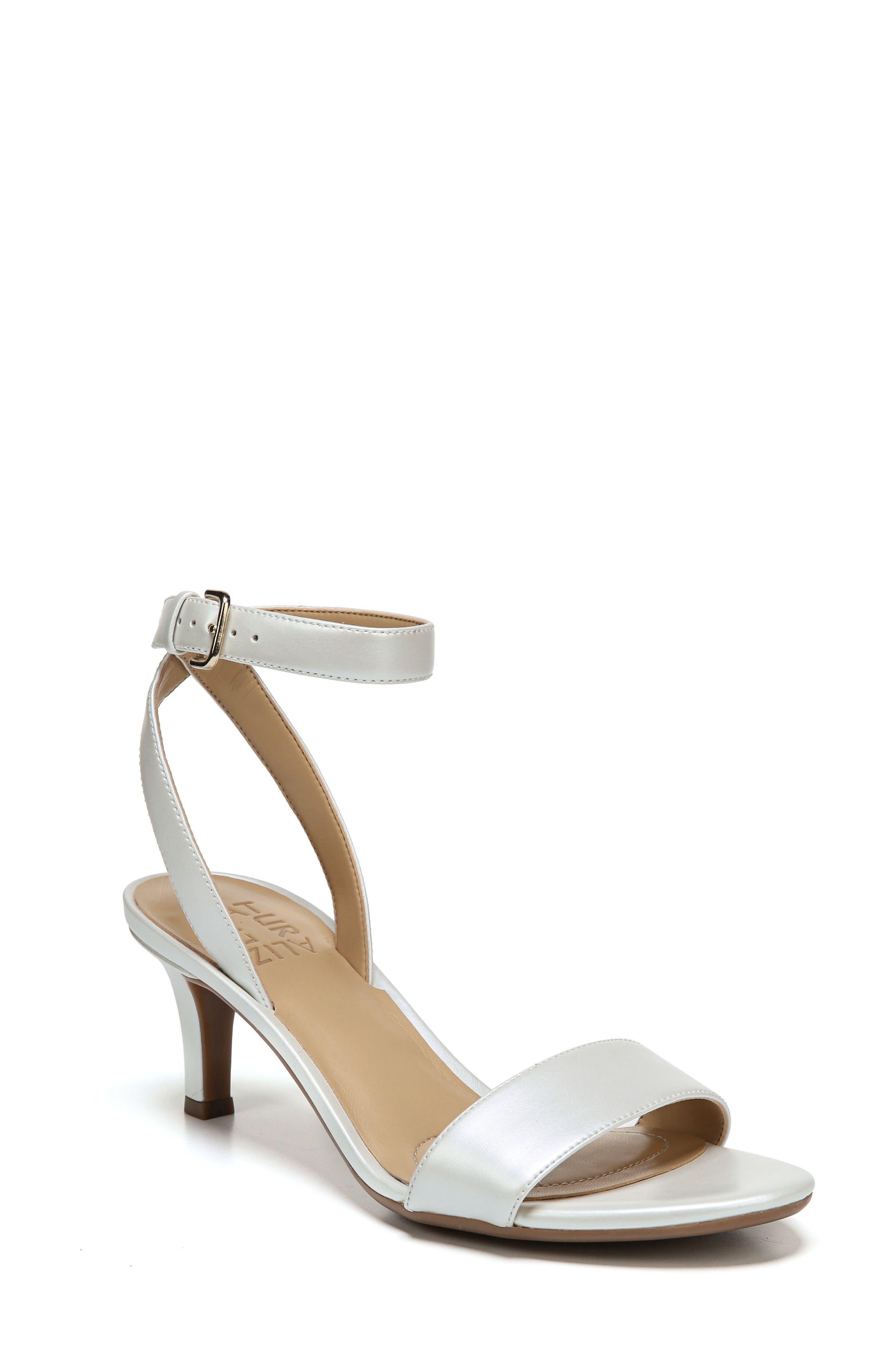 NATURALIZER Tinda Sandal, Main, color, WHITE LEATHER