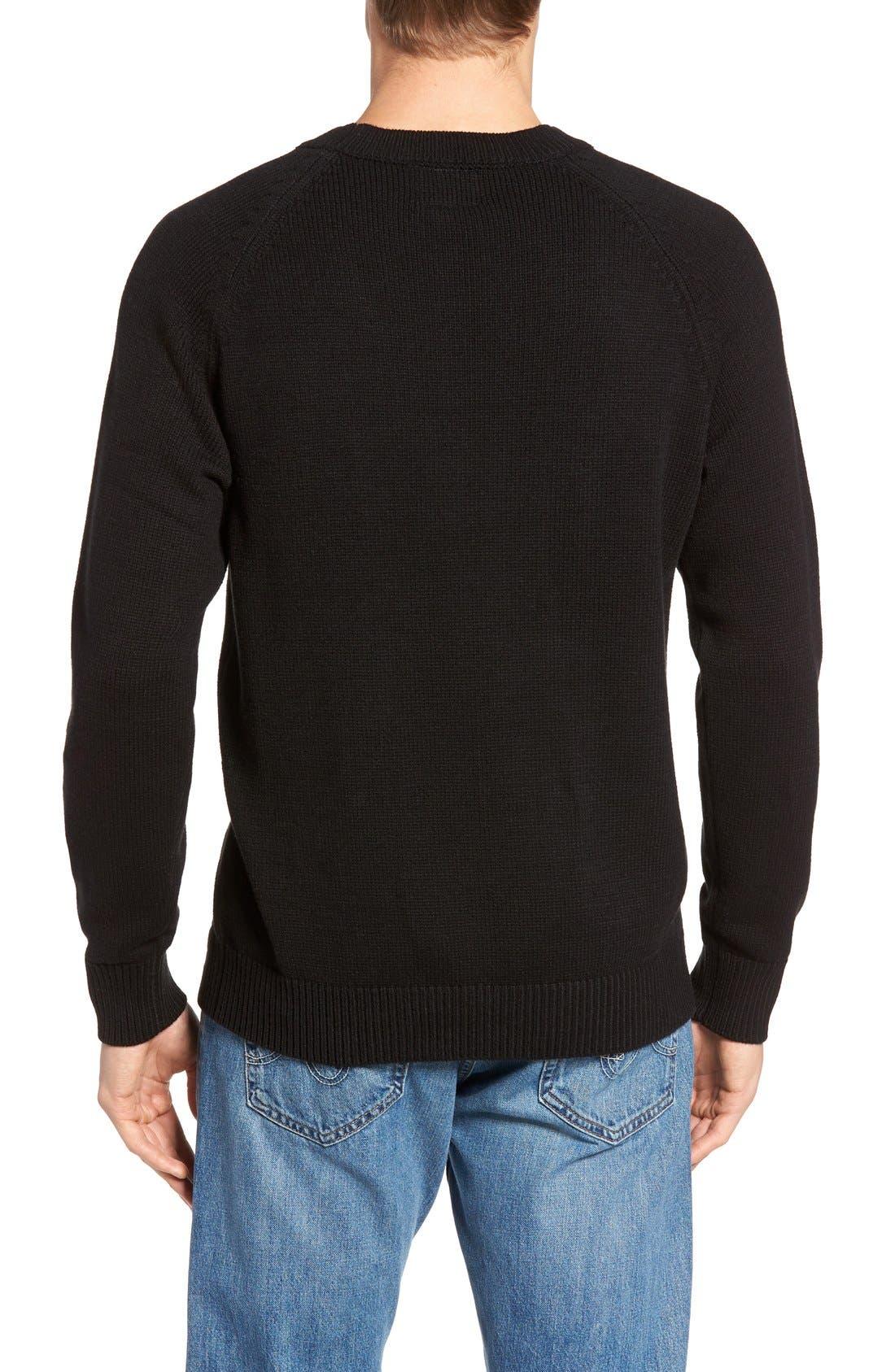 HILLFLINT,                             Iowa Heritage Sweater,                             Alternate thumbnail 2, color,                             001