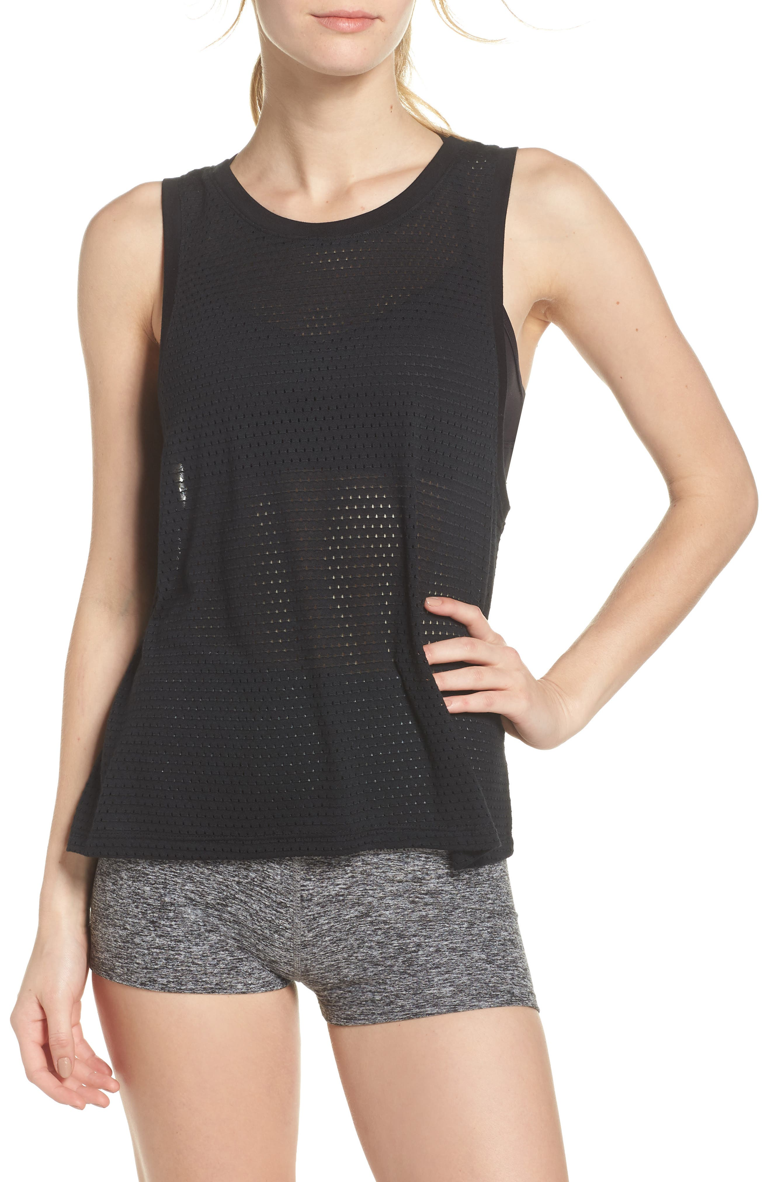 Mesh Me Up Muscle Tank,                         Main,                         color, 009