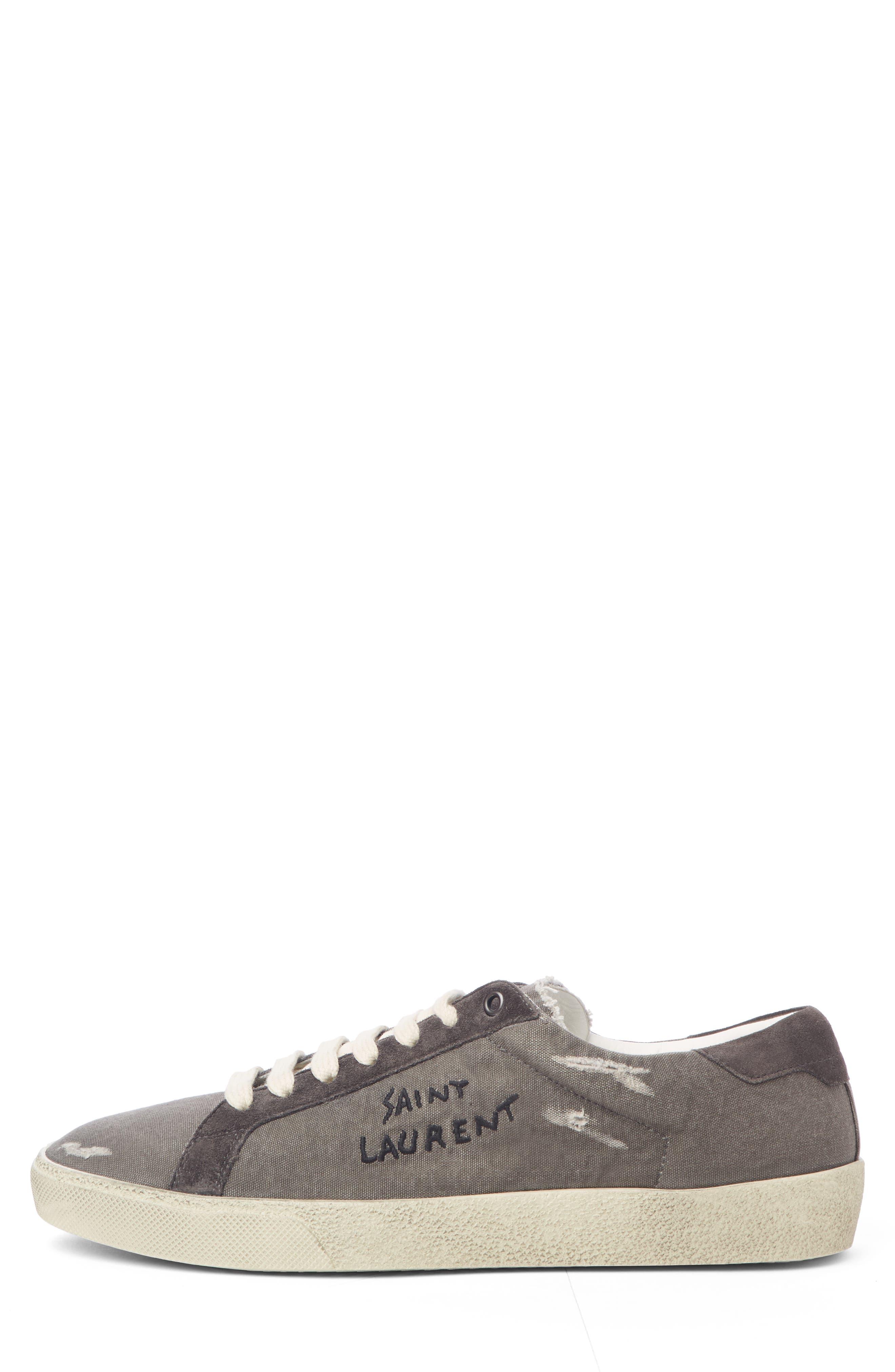 Low Top Sneaker,                             Alternate thumbnail 3, color,                             076