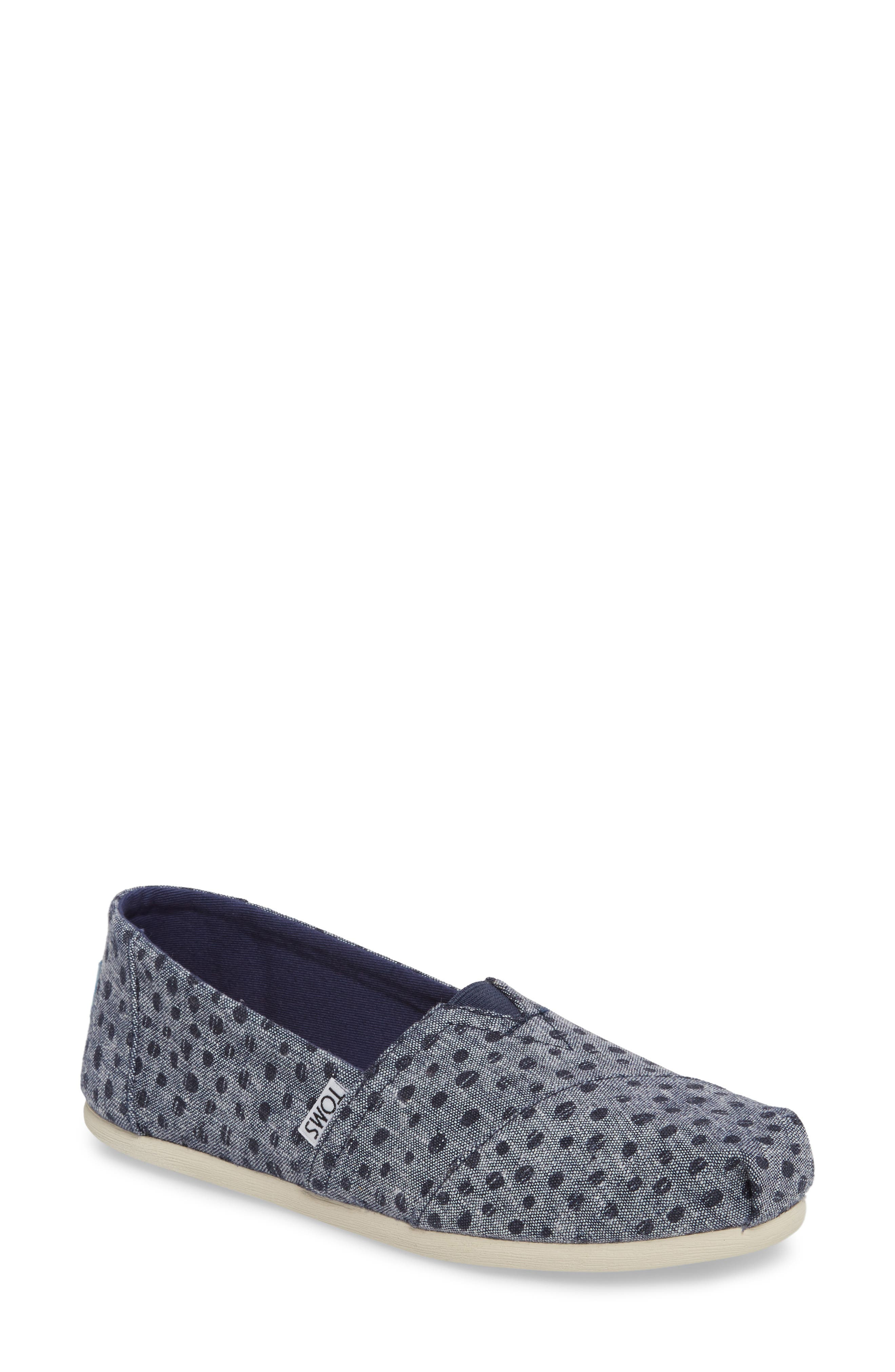 Alpargata Chambray Slip-On,                             Main thumbnail 1, color,                             410