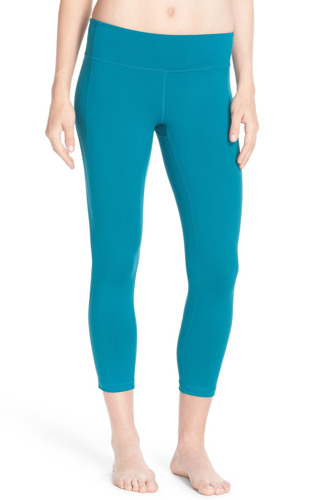 Live-In Keep It Cool Crop Leggings,                             Main thumbnail 4, color,