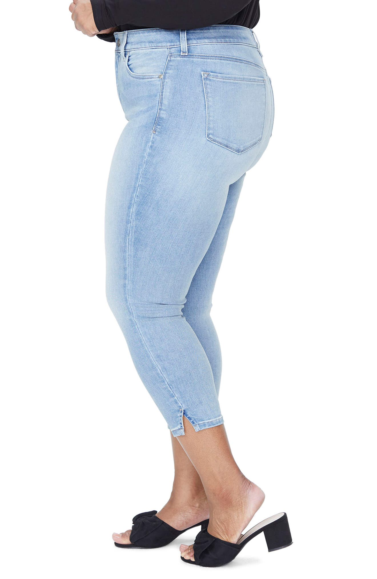 Ami Ankle Skinny Jeans,                             Alternate thumbnail 7, color,