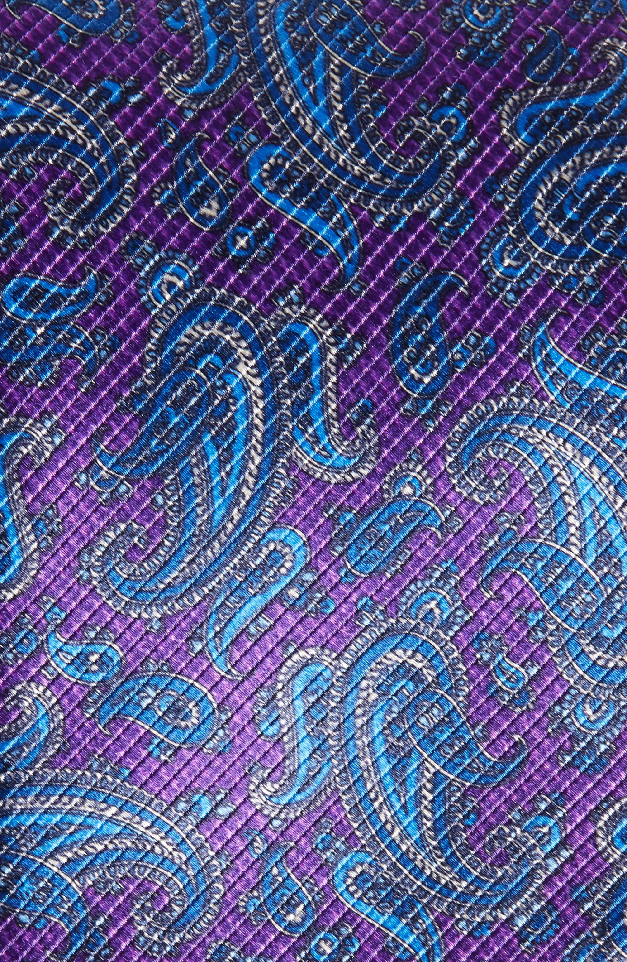 Paisley Silk Tie,                             Alternate thumbnail 2, color,