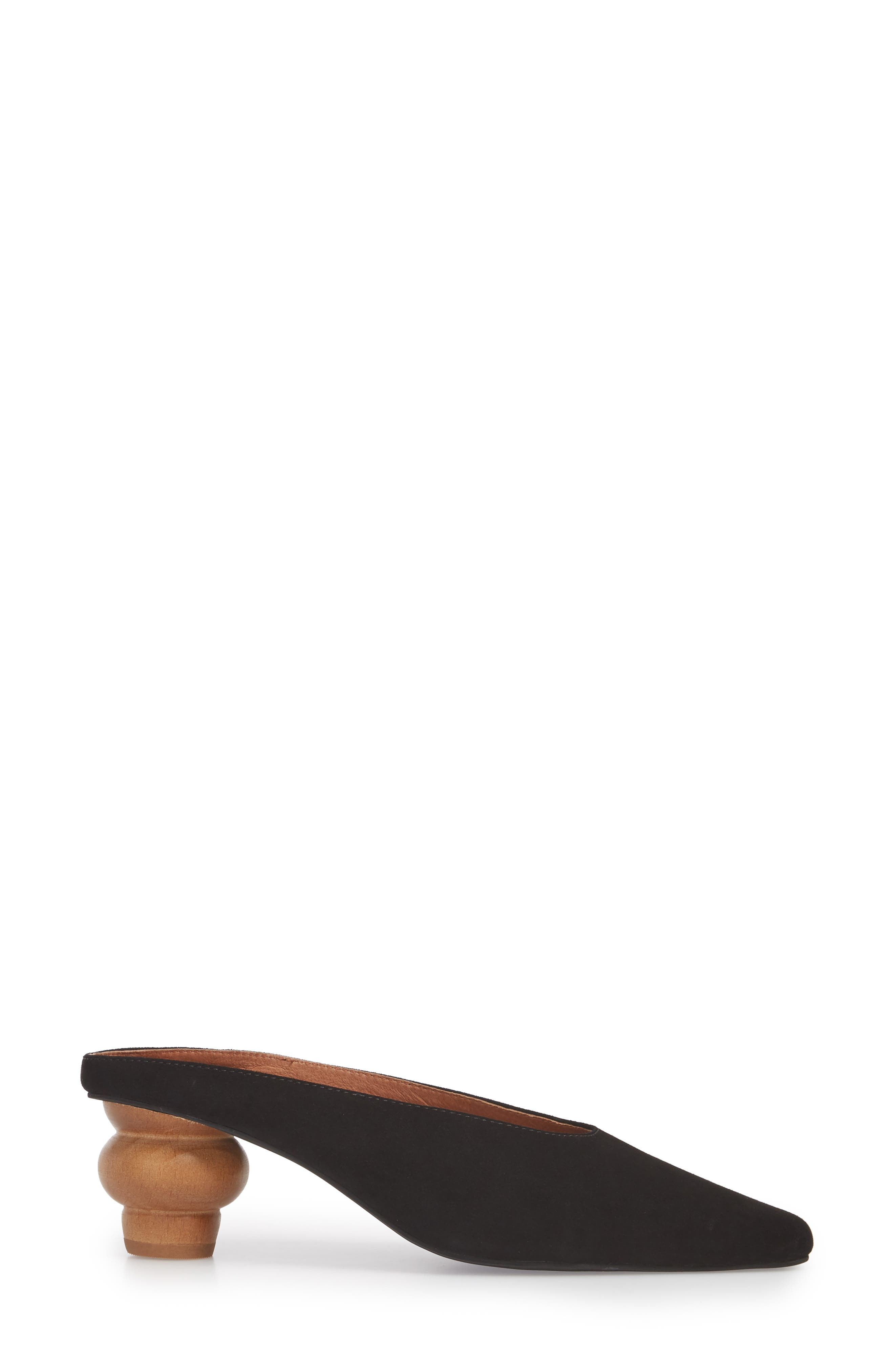 JEFFREY CAMPBELL,                             Cryptic Statement Heel Mule,                             Alternate thumbnail 3, color,                             005