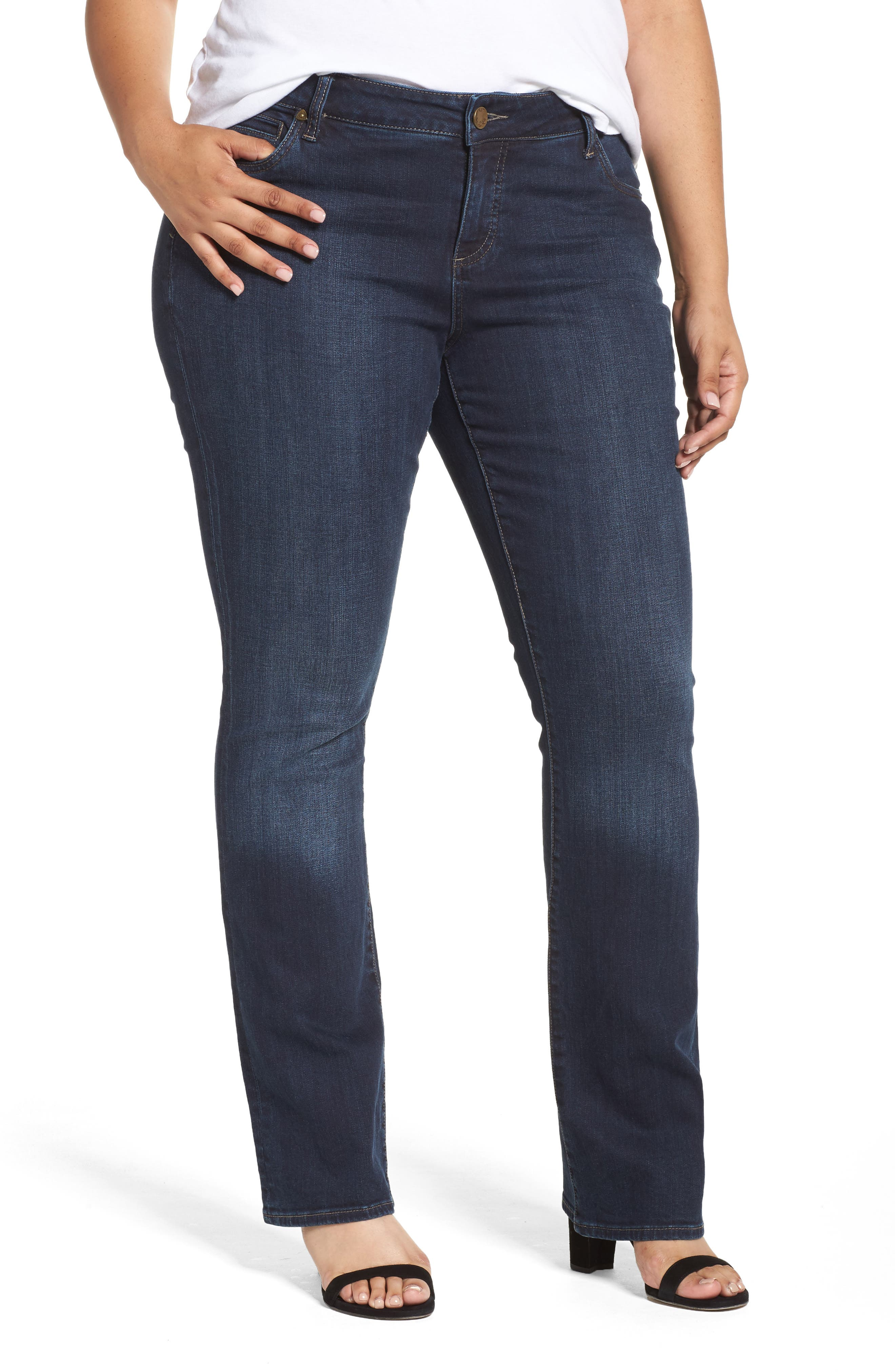 Natalie High Waist Bootcut Jeans,                             Main thumbnail 1, color,                             453