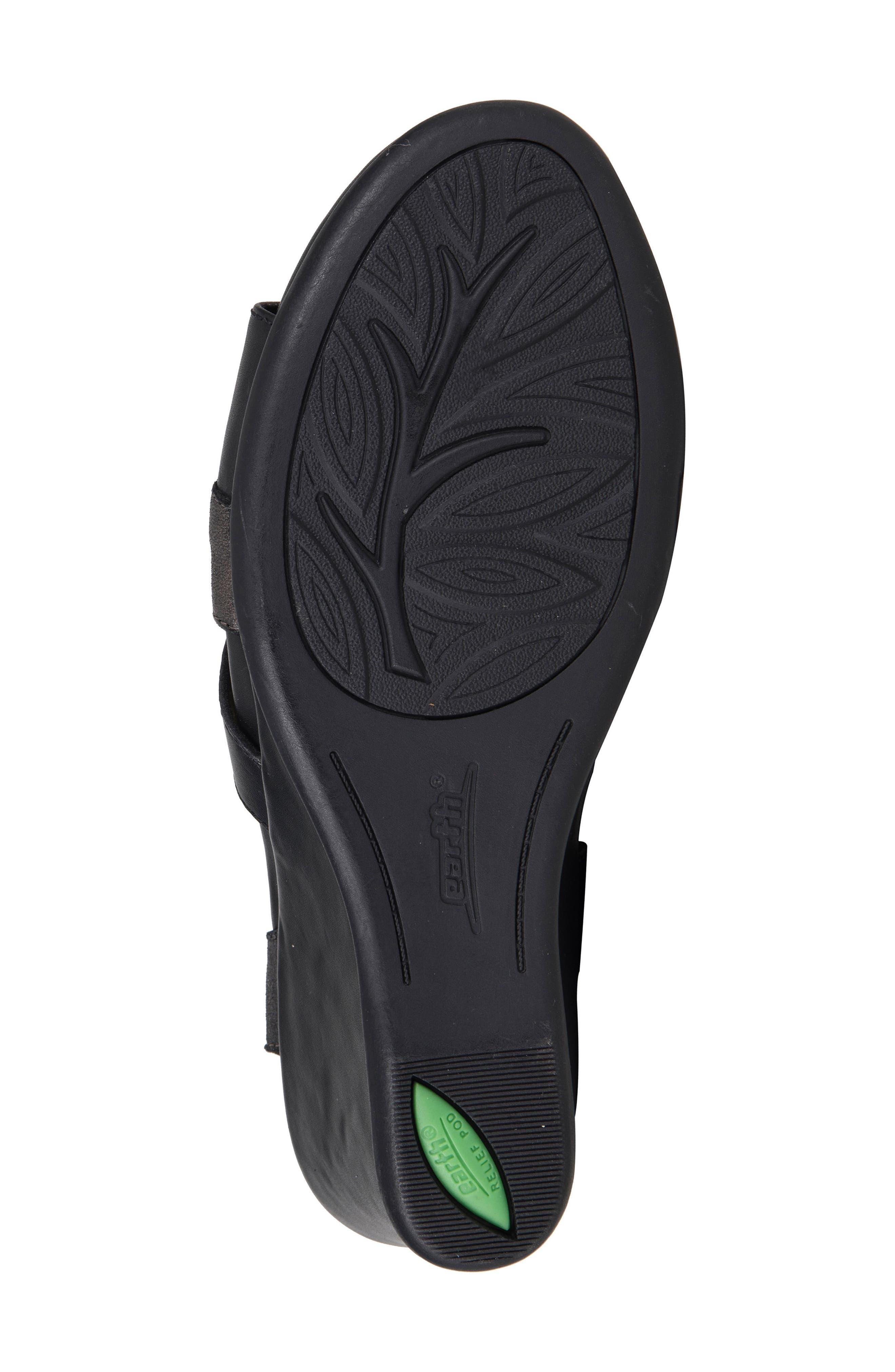 Thistle Wedge Sandal,                             Alternate thumbnail 5, color,                             001