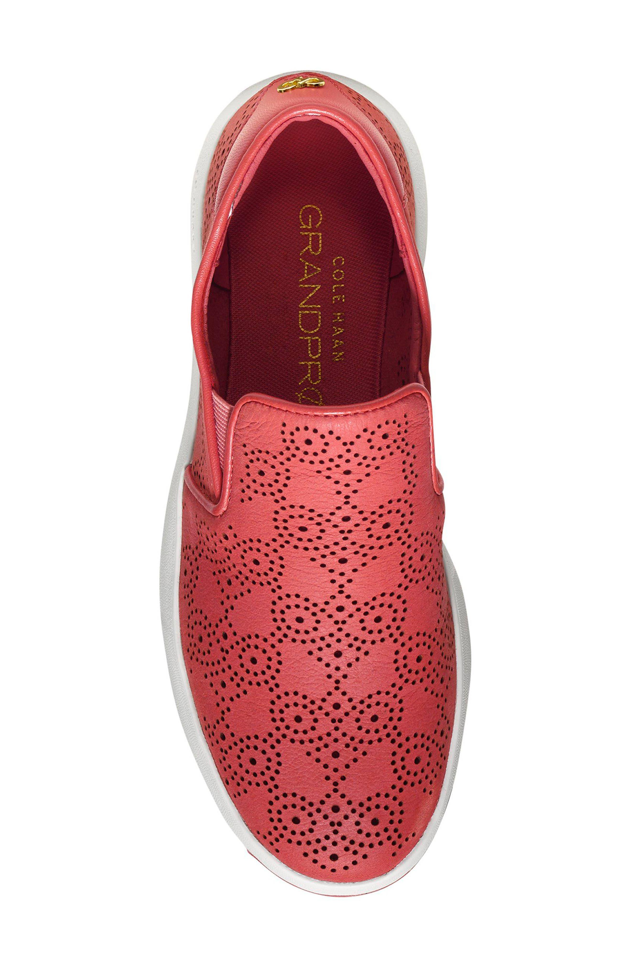 GrandPro Perforated Slip-On Sneaker,                             Alternate thumbnail 8, color,
