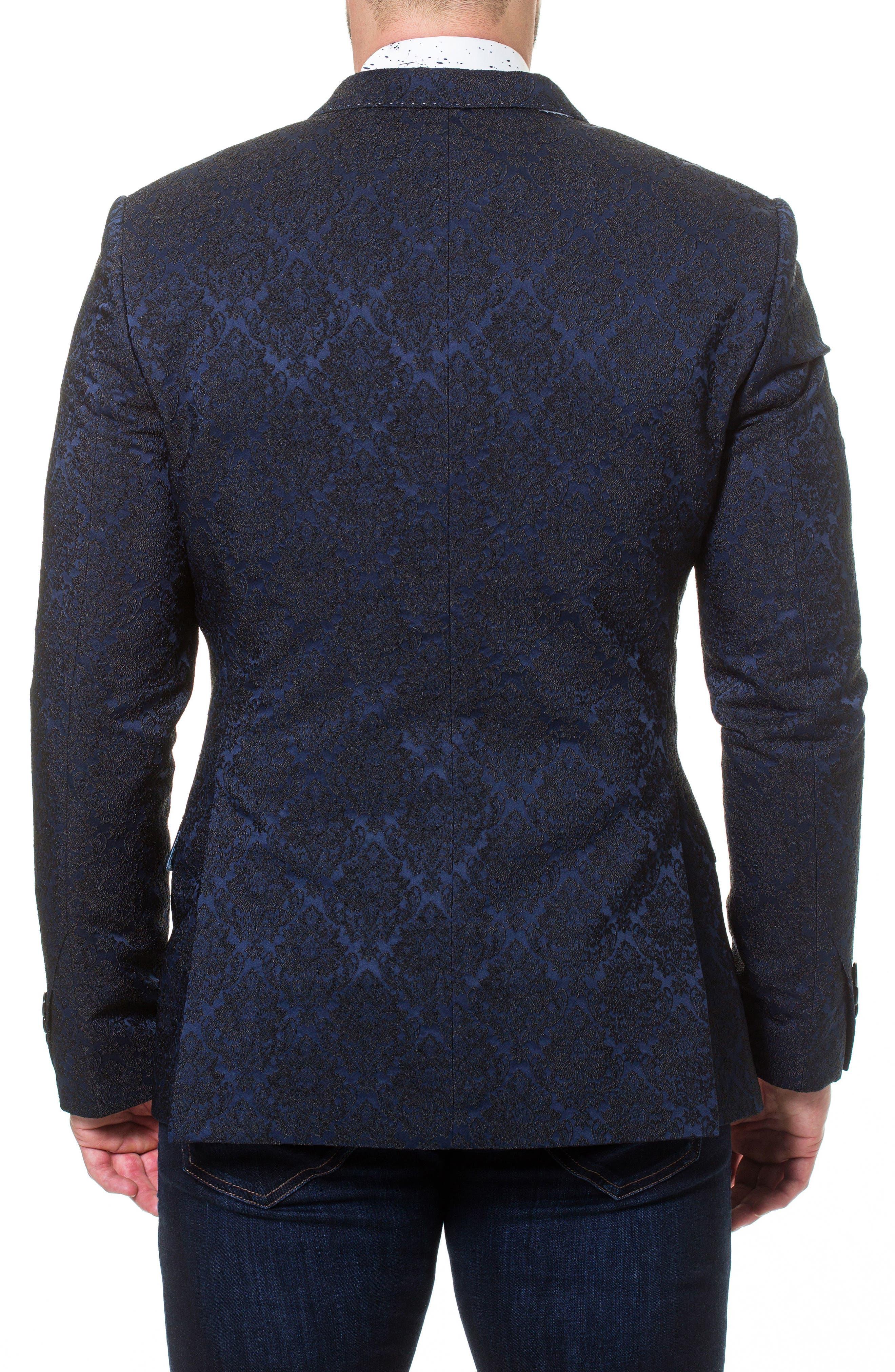 Descartes Jacquard Linen & Cotton Blend Sport Coat,                             Alternate thumbnail 2, color,                             420