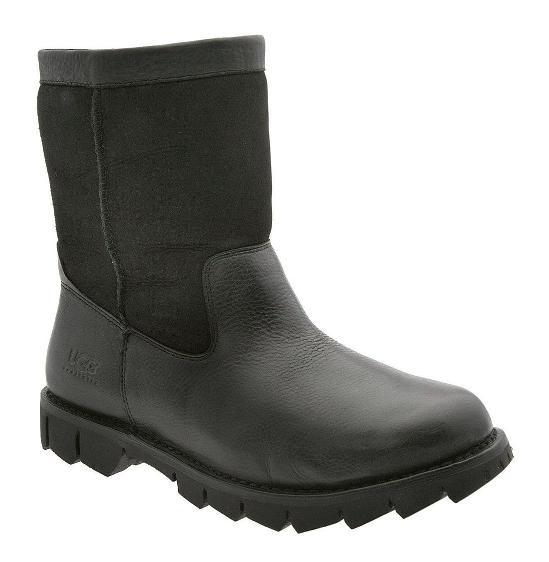 UGG<SUP>®</SUP>,                             Australia Beacon Boot,                             Main thumbnail 1, color,                             BLK