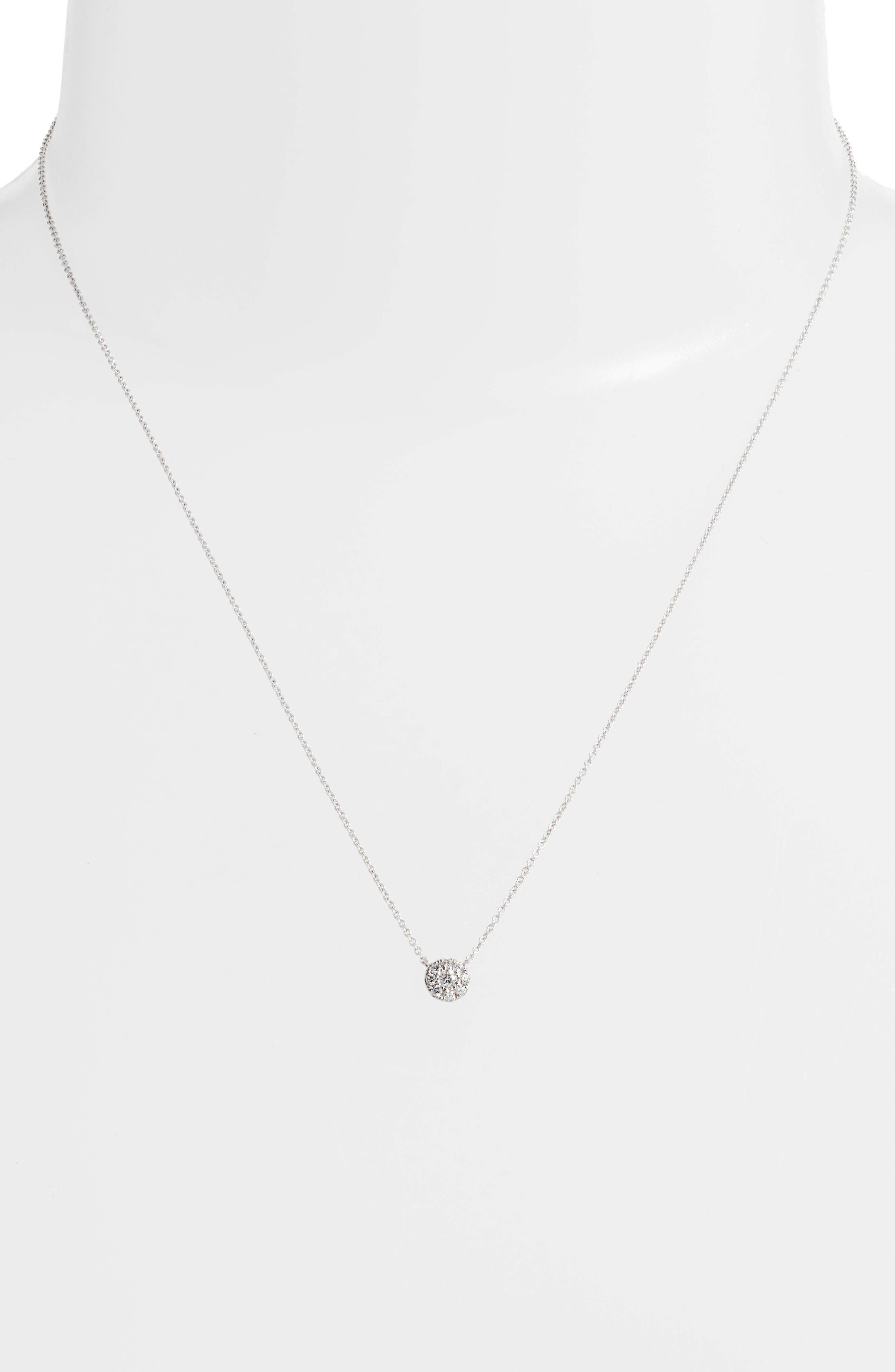 Ella Diamond Pendant Necklace,                             Alternate thumbnail 5, color,
