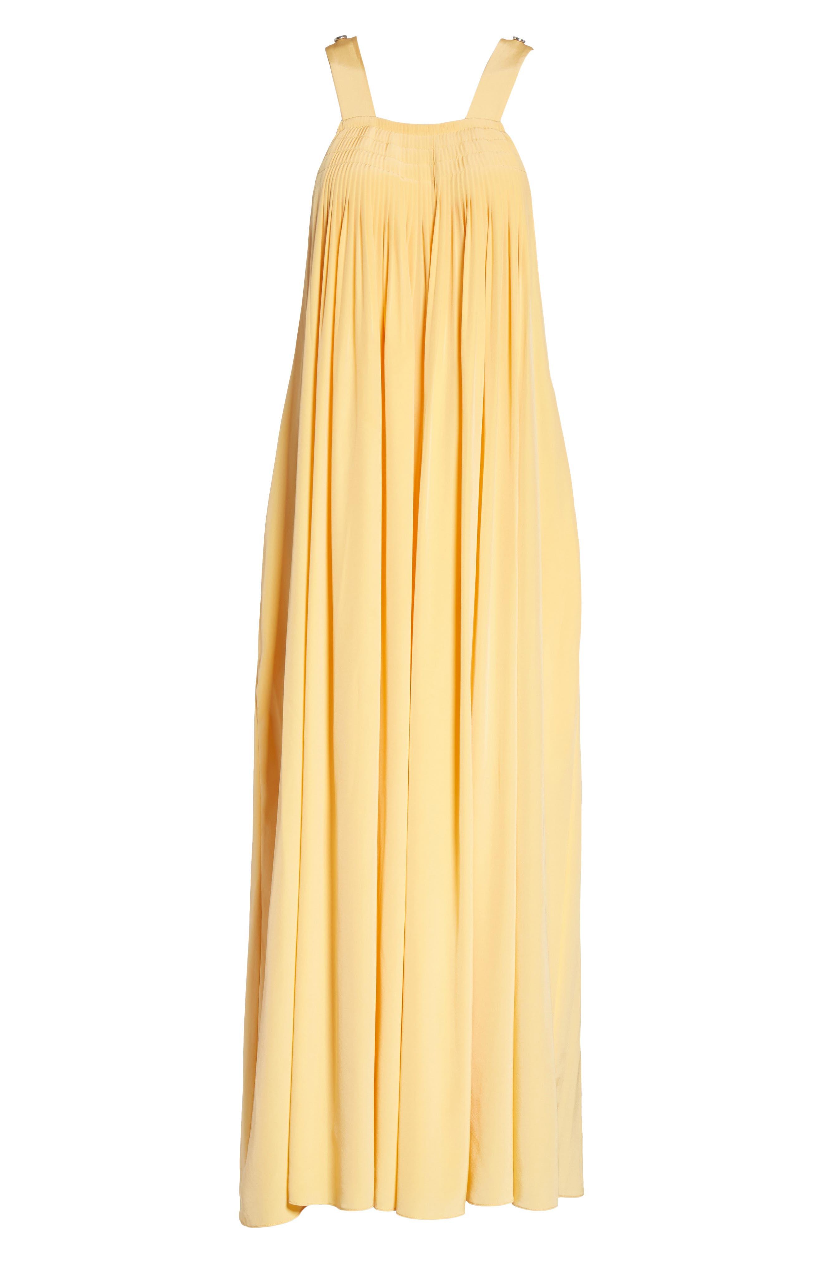 Silk Overall Dress,                             Alternate thumbnail 6, color,                             829