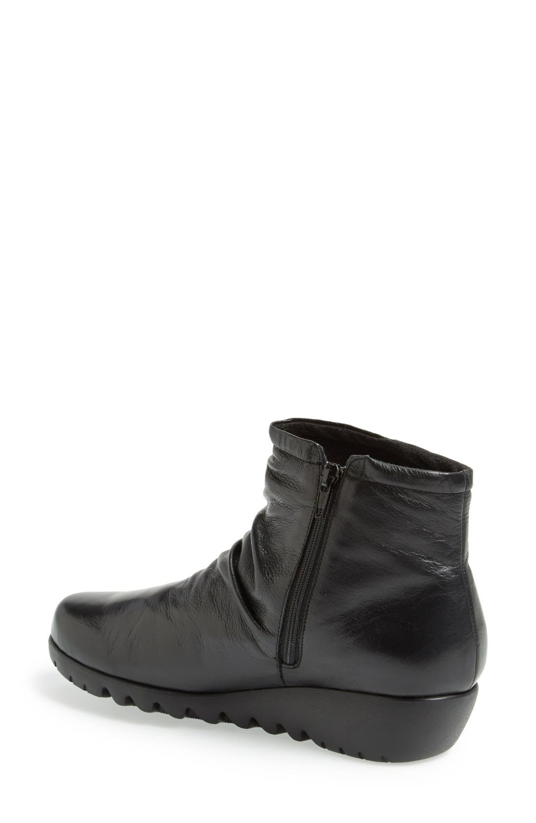 'Riley' Ankle Boot,                             Alternate thumbnail 2, color,                             001