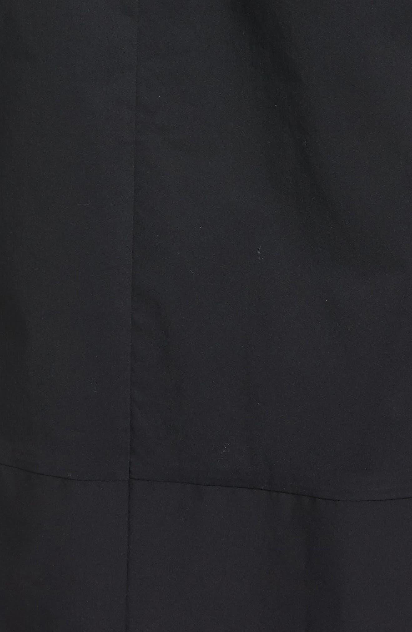 Poplin Shirtdress,                             Alternate thumbnail 5, color,                             001
