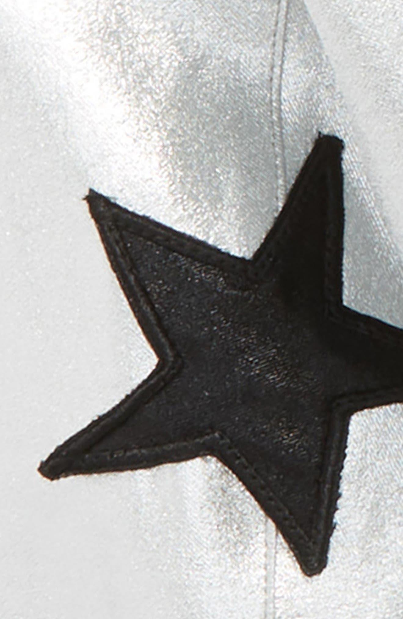 Aliver Star Bomber Jacket,                             Alternate thumbnail 3, color,                             040