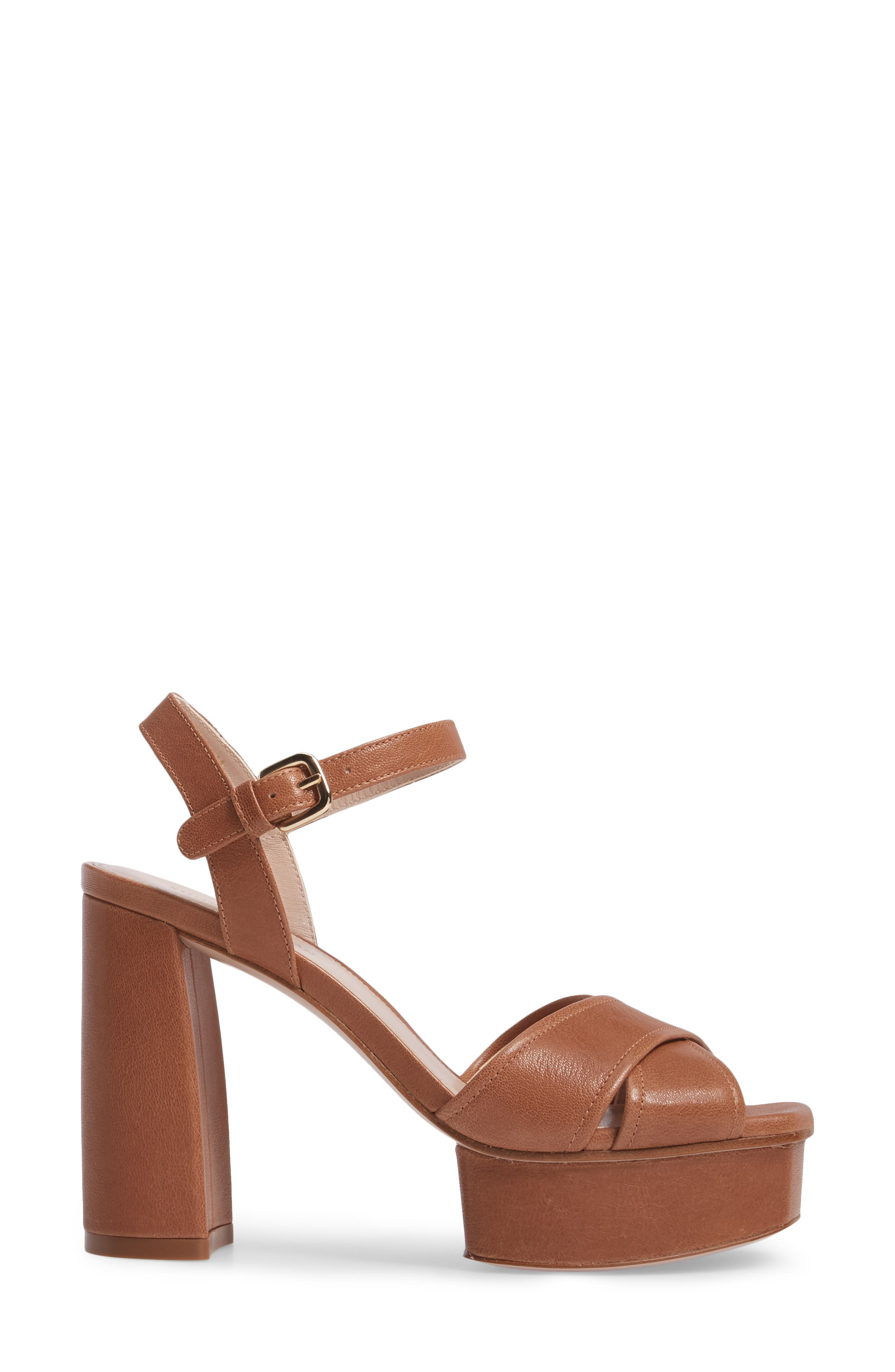 Exposed Platform Sandal,                             Alternate thumbnail 14, color,