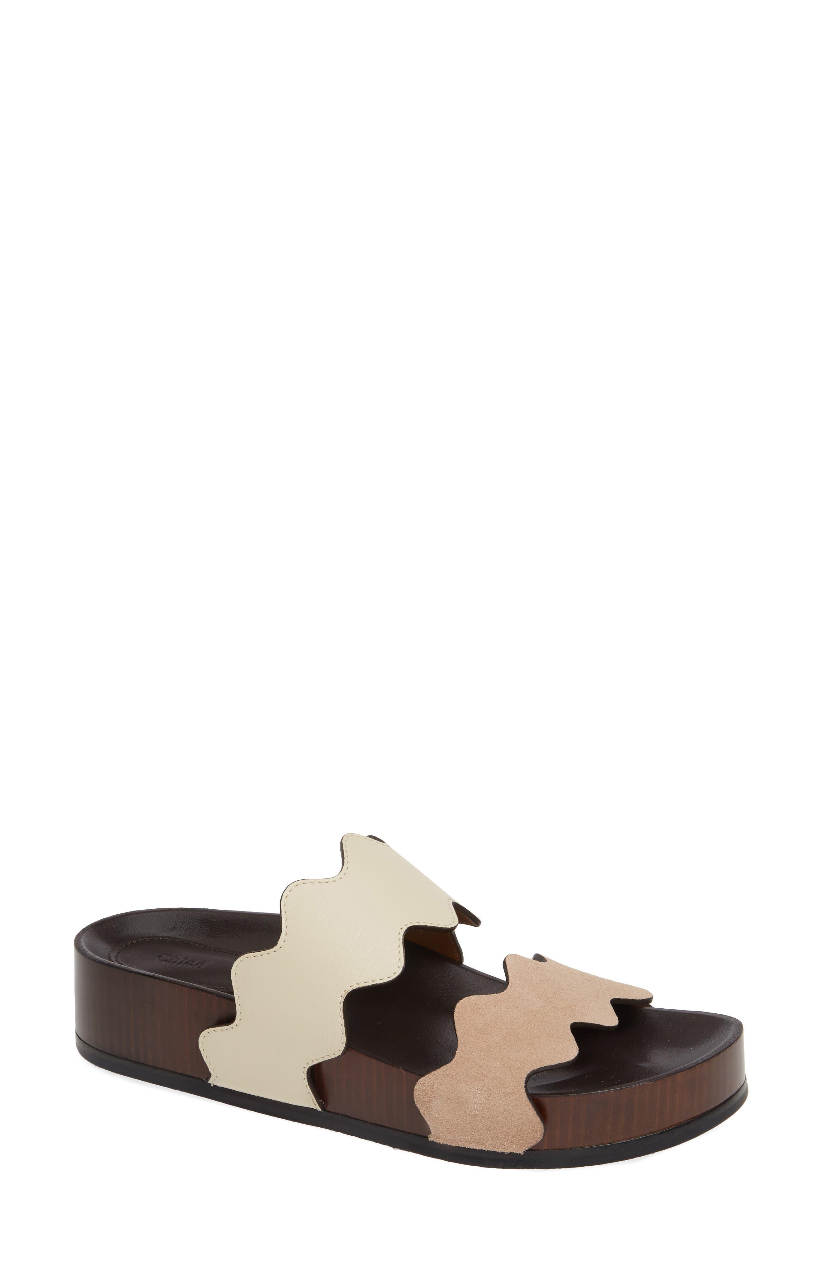 Lauren Platform Sandal,                         Main,                         color, BEIGE MULTI
