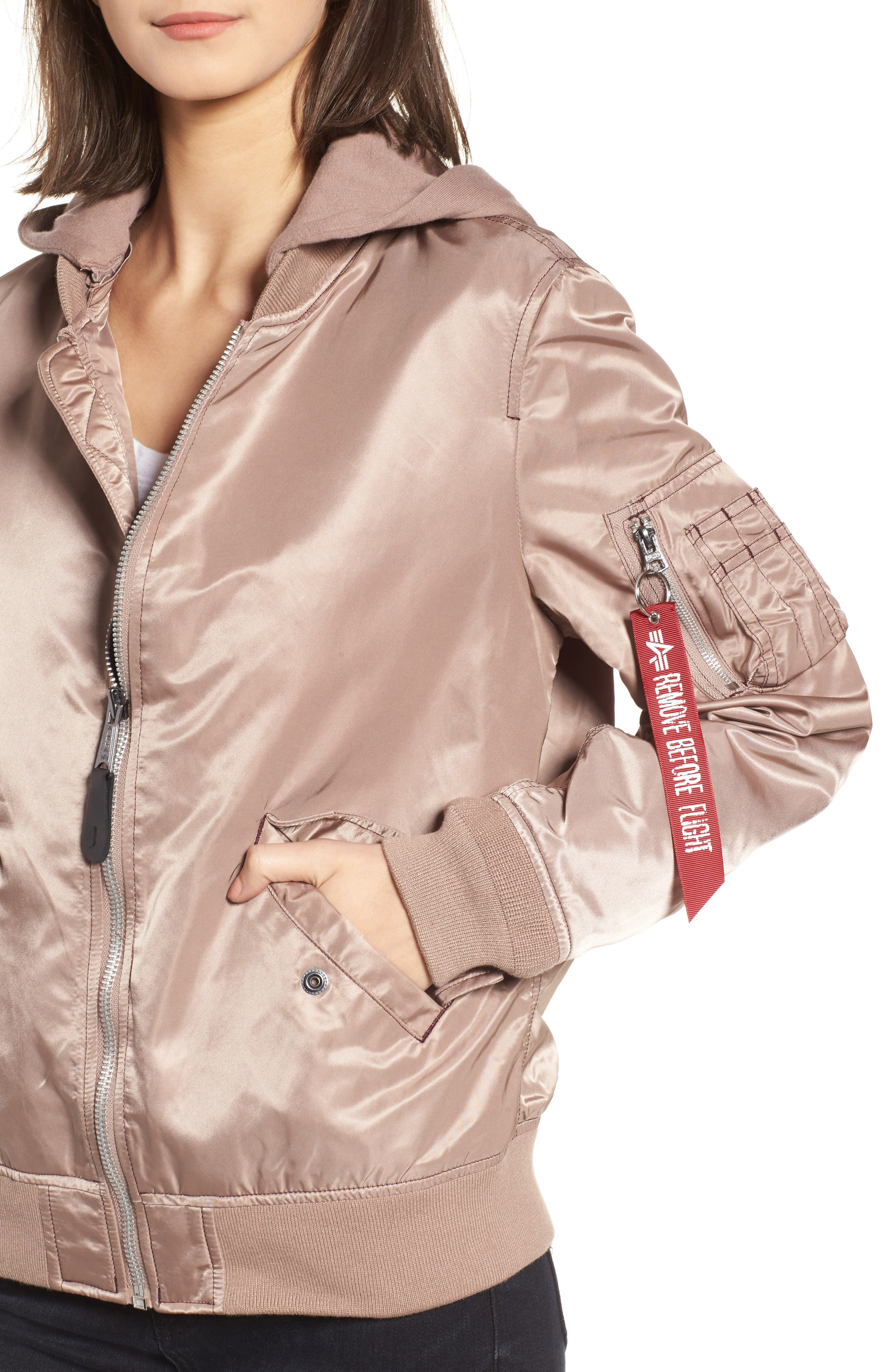 L-2B Natus Flight Jacket,                             Alternate thumbnail 9, color,