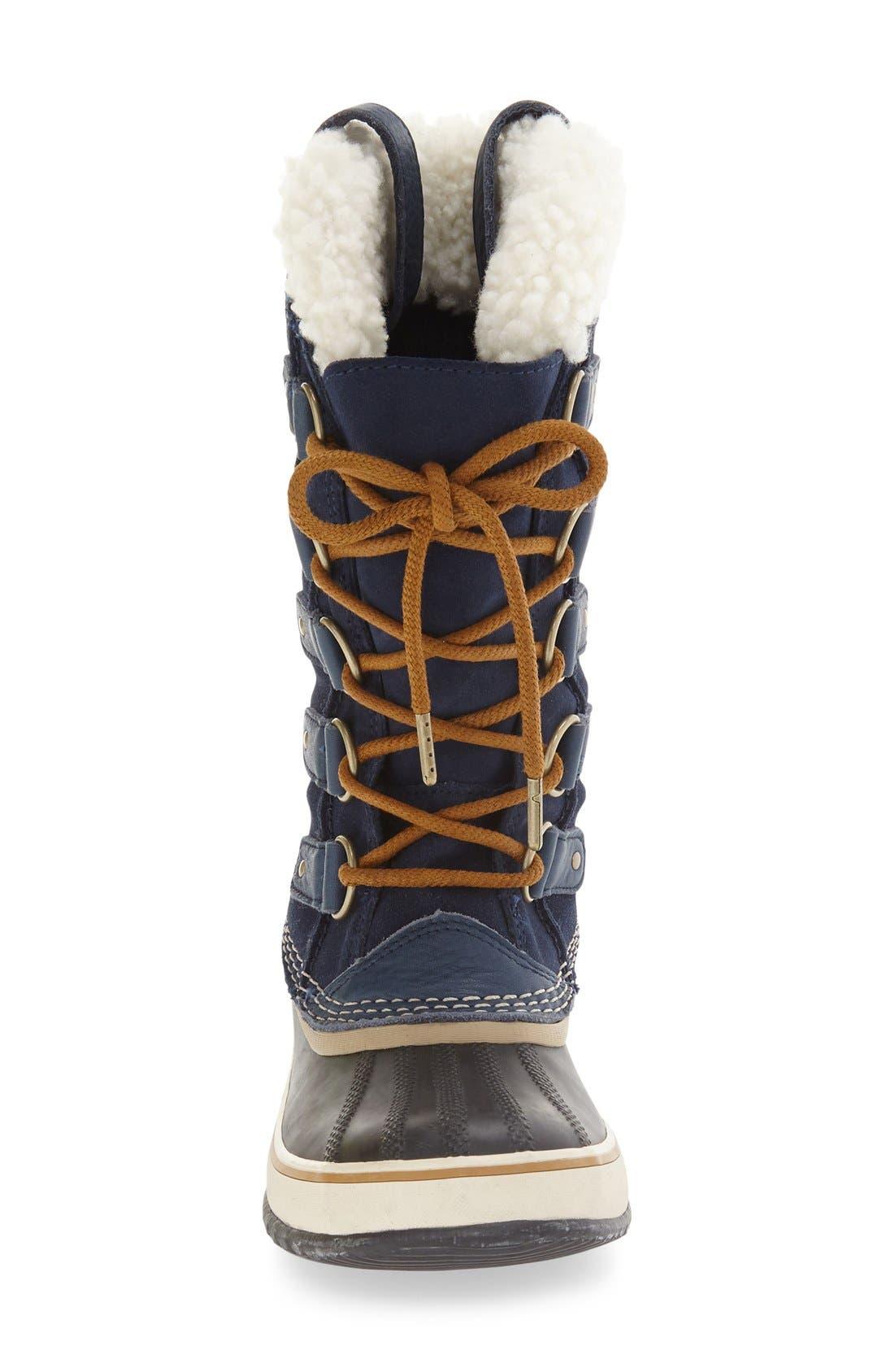 Joan of Arctic Genuine Shearling Waterproof Boot,                             Alternate thumbnail 6, color,