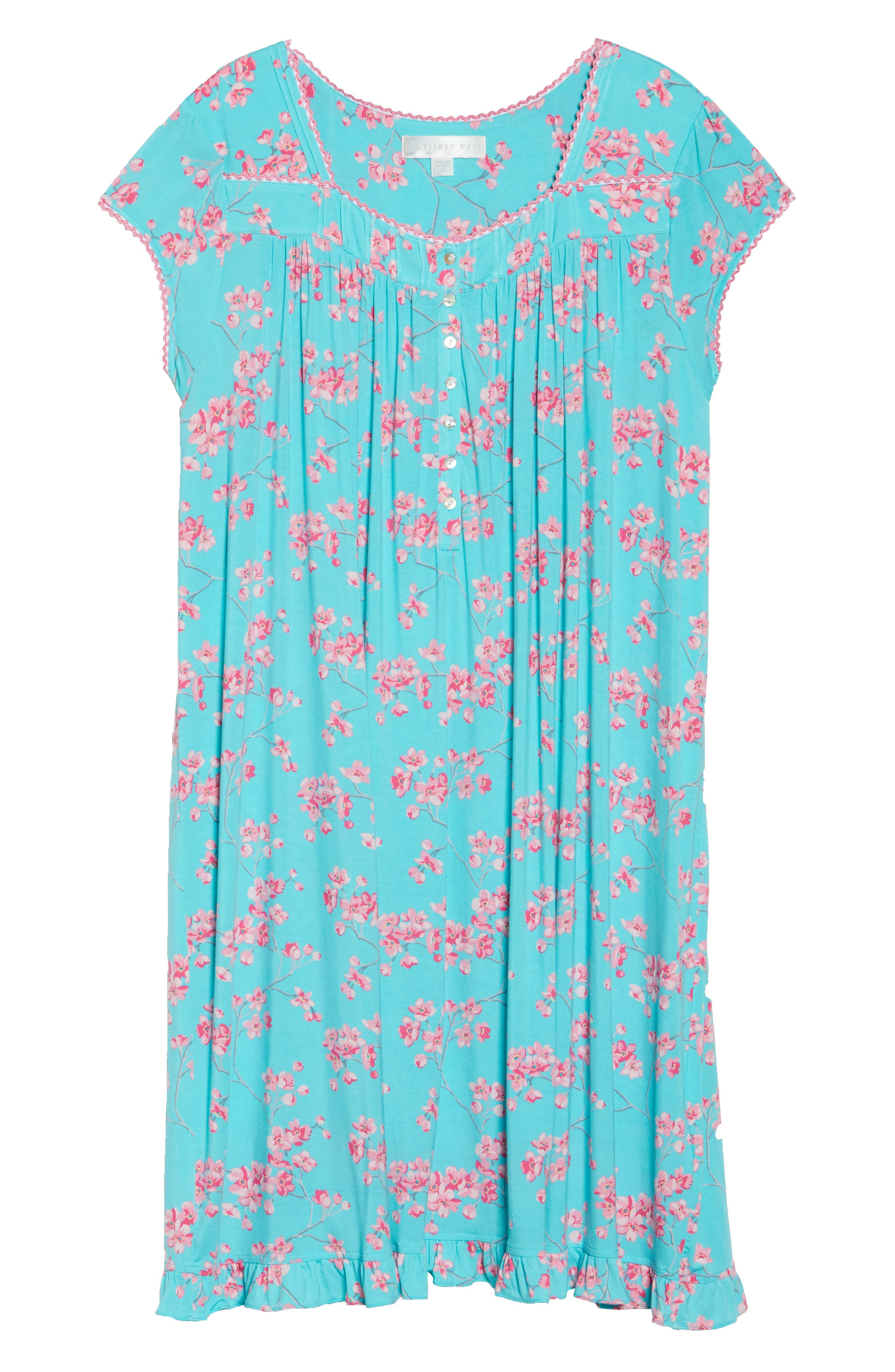Jersey Waltz Nightgown,                             Alternate thumbnail 11, color,