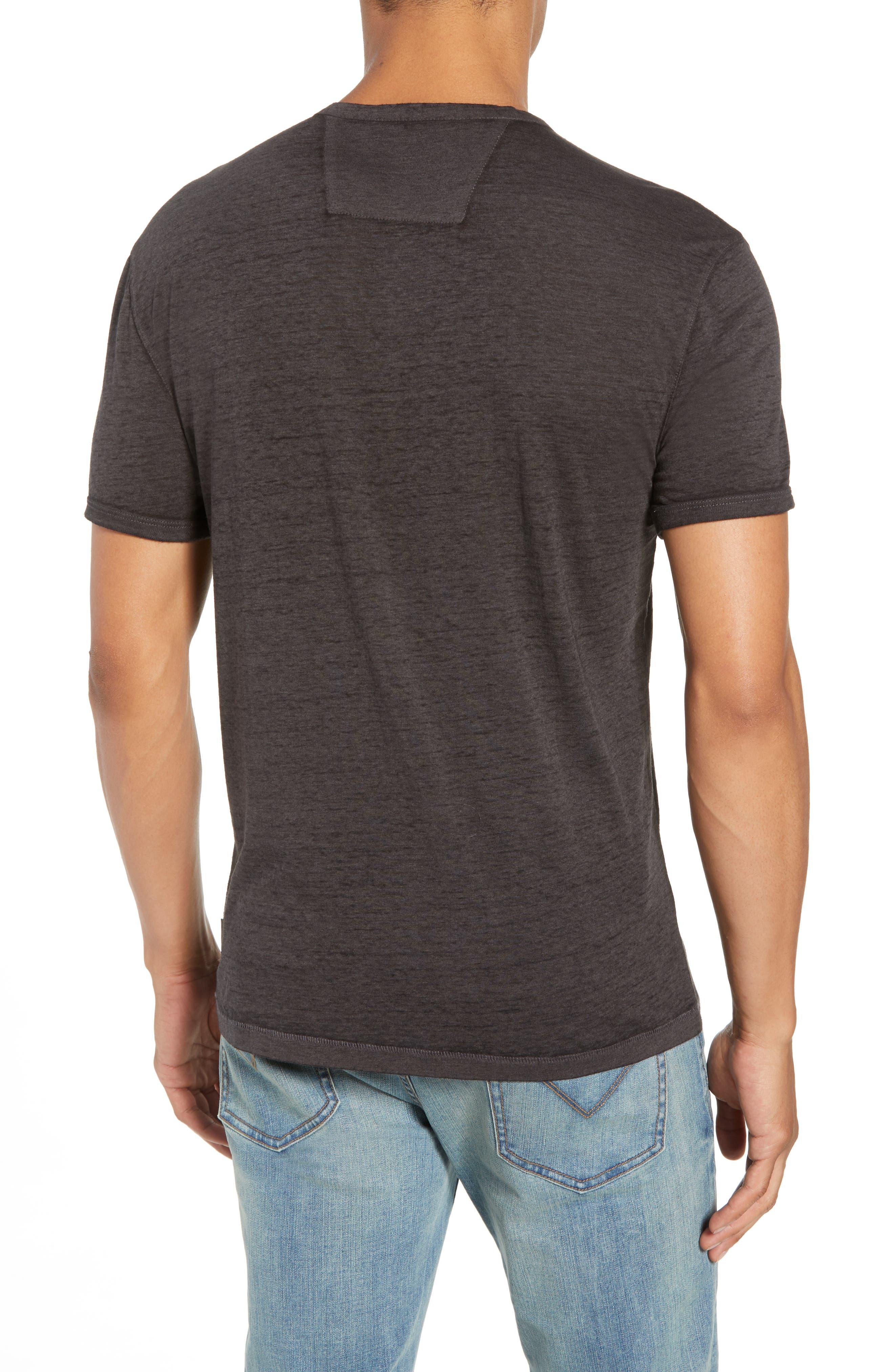 Burnout Henley T-Shirt,                             Alternate thumbnail 2, color,                             020