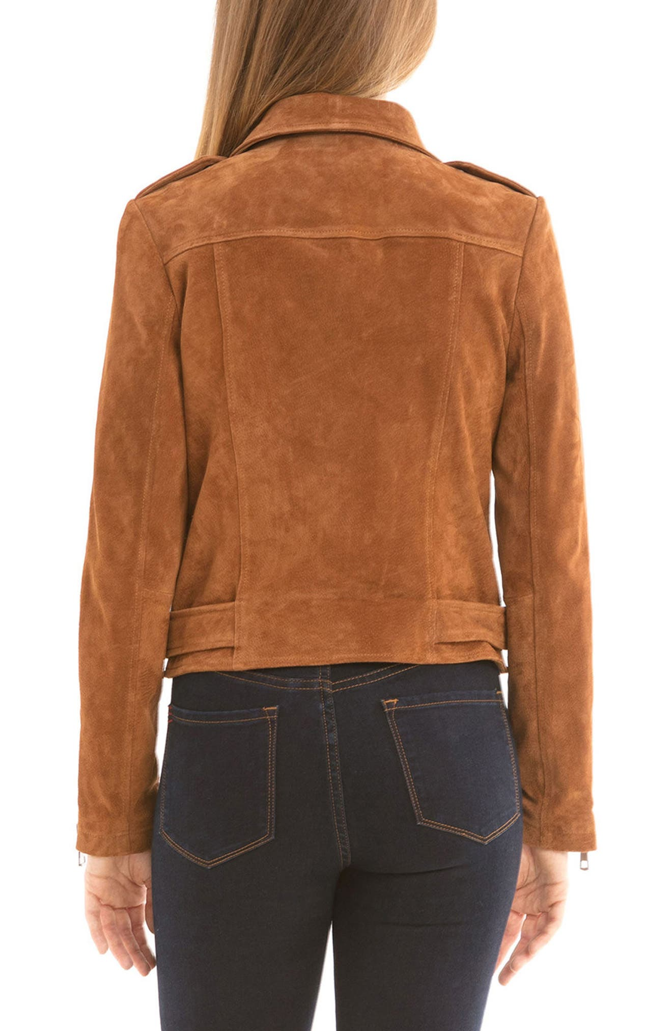 NYC  Suede Jacket,                             Alternate thumbnail 9, color,