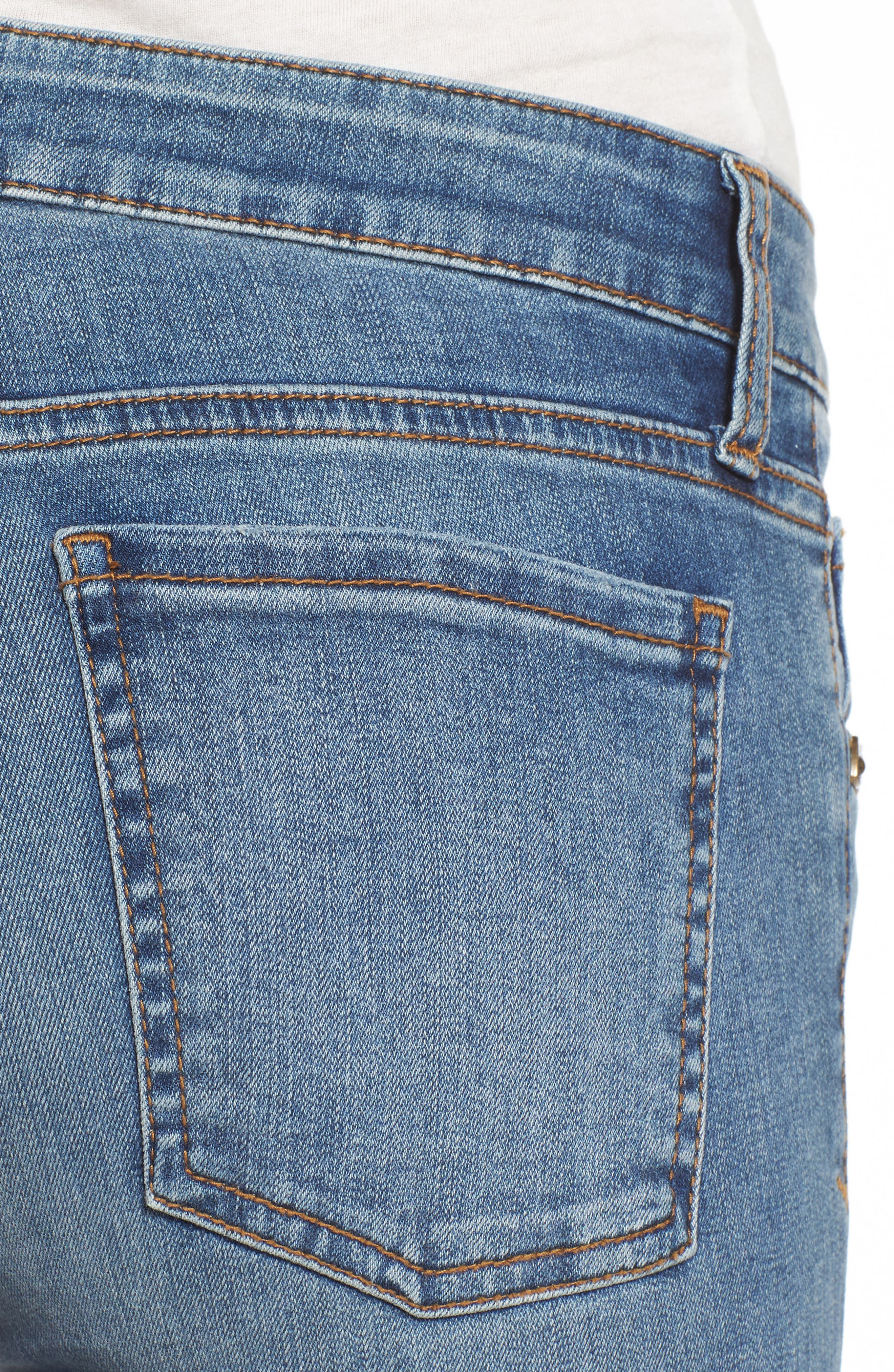 Donna Skinny Jeans,                             Alternate thumbnail 4, color,                             426