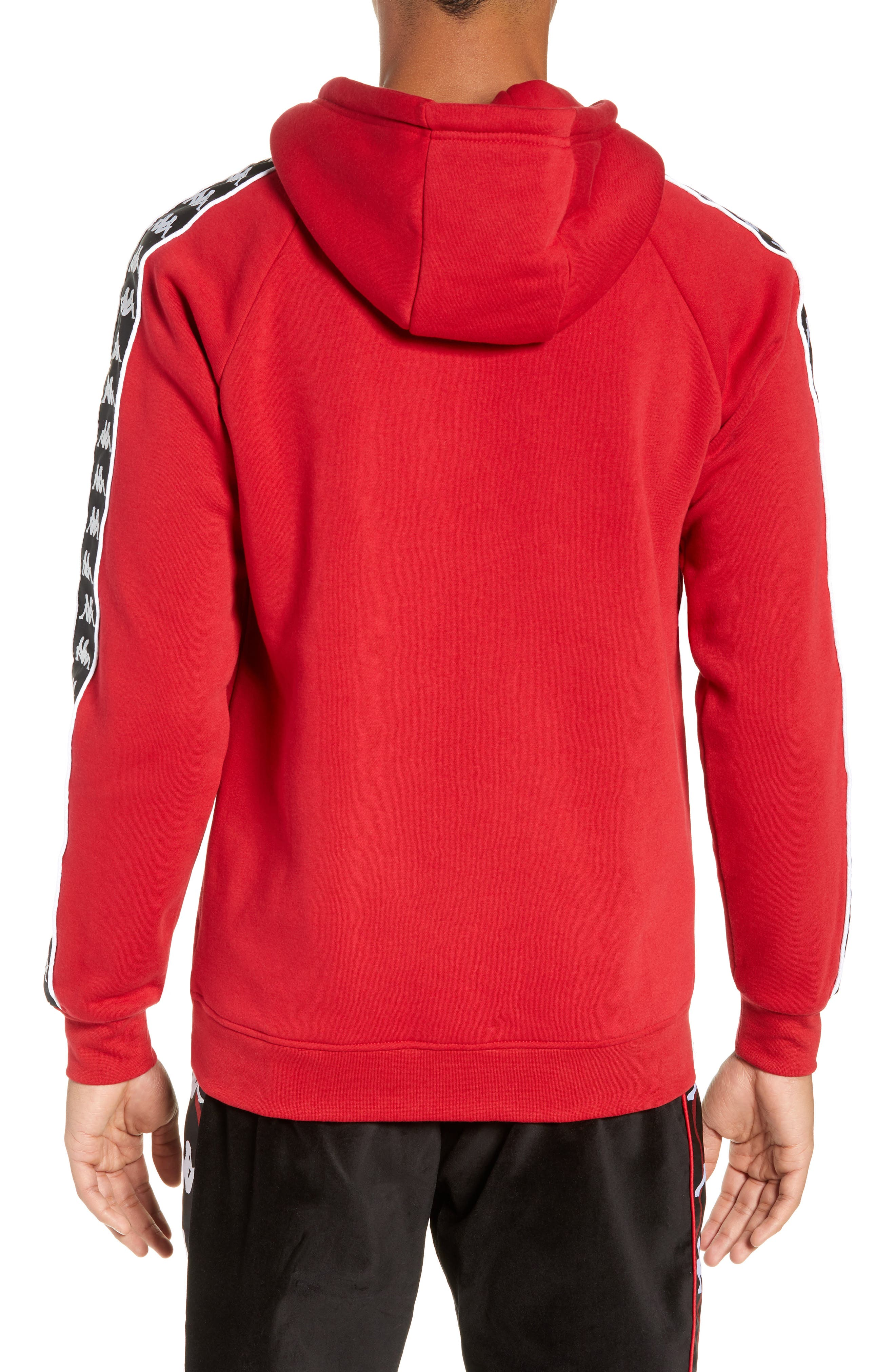 Banda Graphic Hoodie,                             Alternate thumbnail 2, color,                             RED/ BLACK/ WHITE