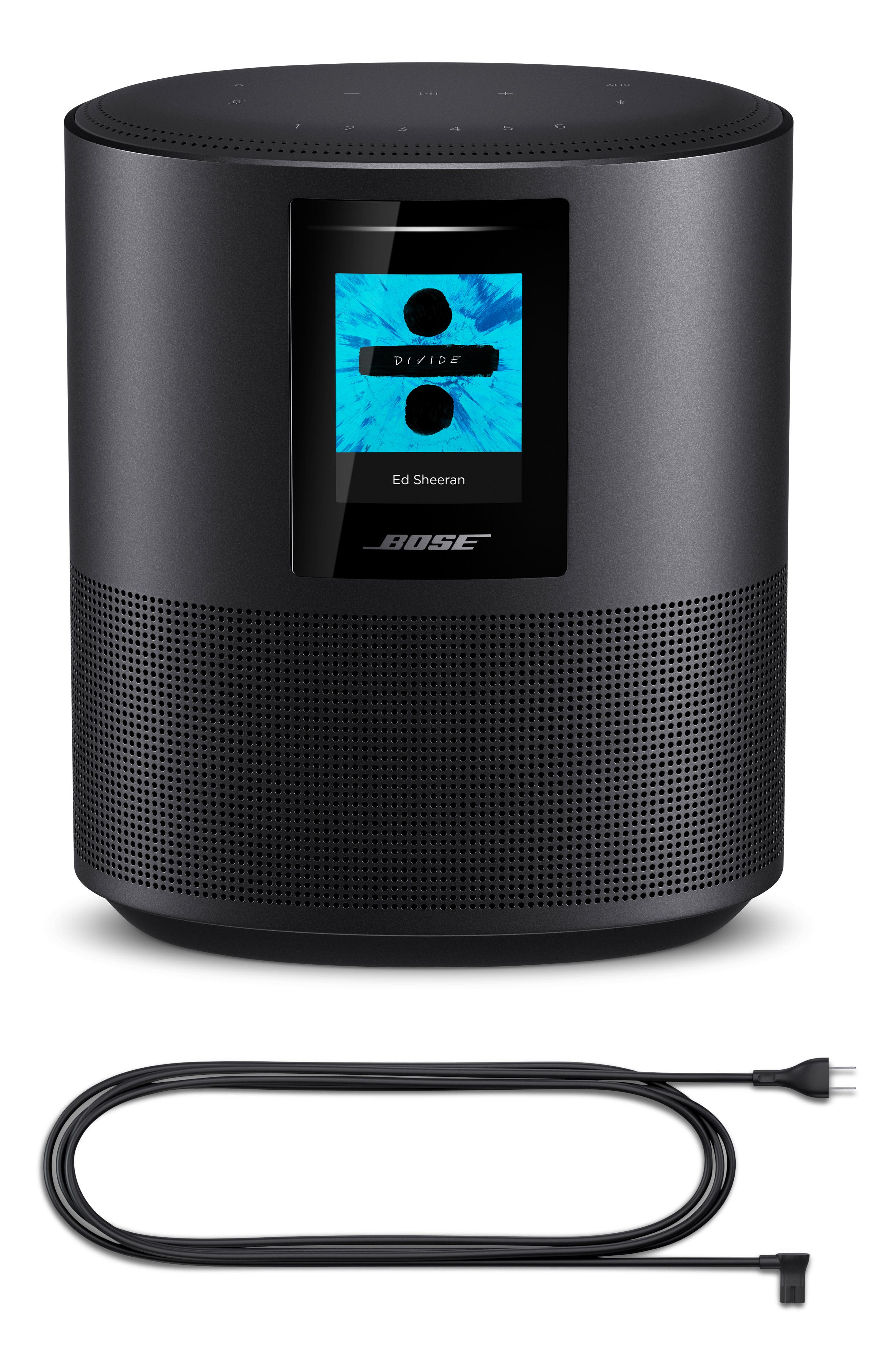 Home 500 Bluetooth<sup>®</sup> Speaker,                             Alternate thumbnail 6, color,                             BLACK