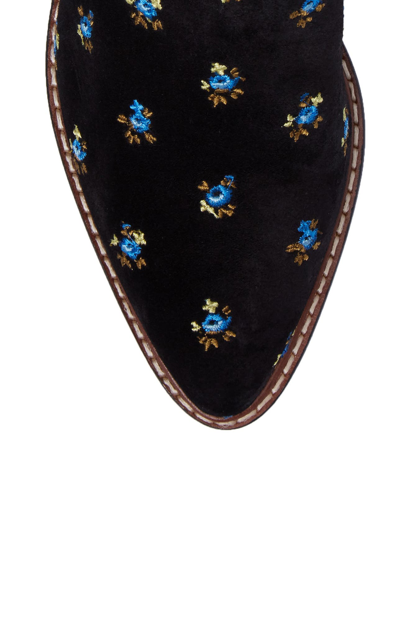 Bowery Embroidered Chelsea Bootie,                             Alternate thumbnail 10, color,