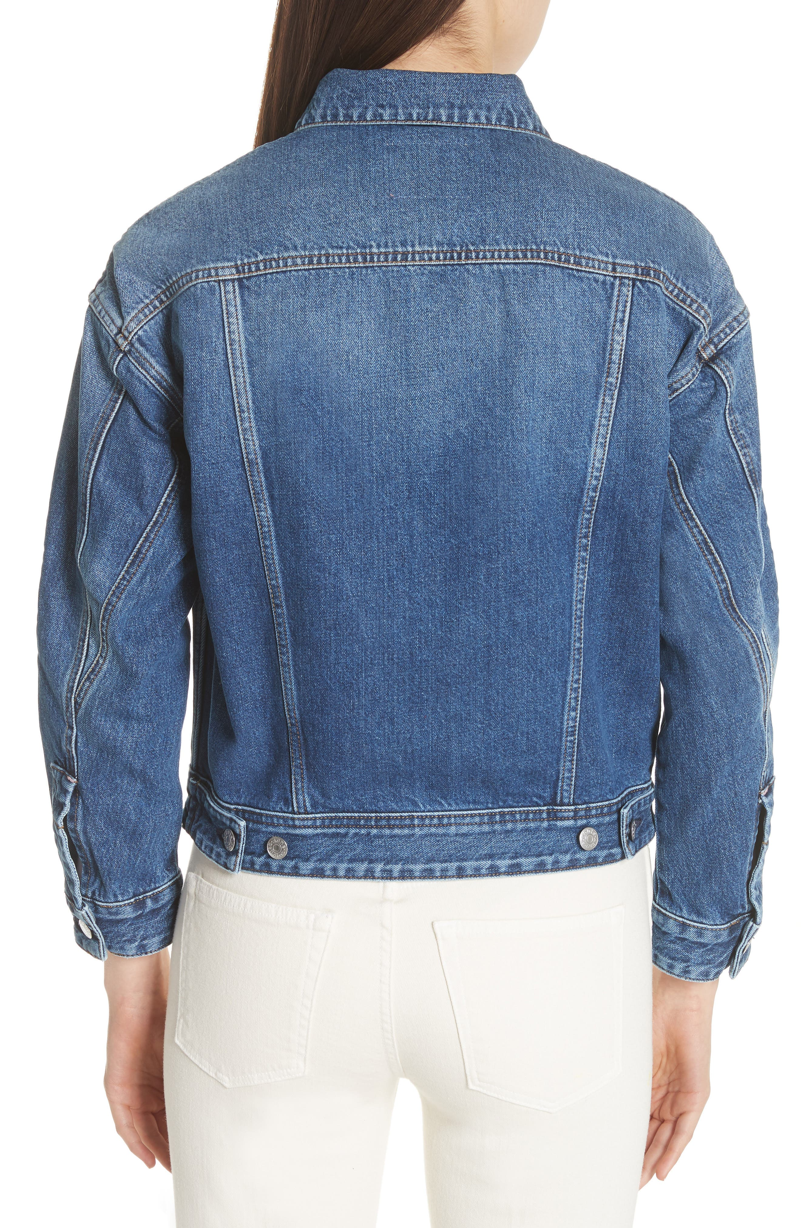 Lamp Denim Jacket,                             Alternate thumbnail 2, color,                             400