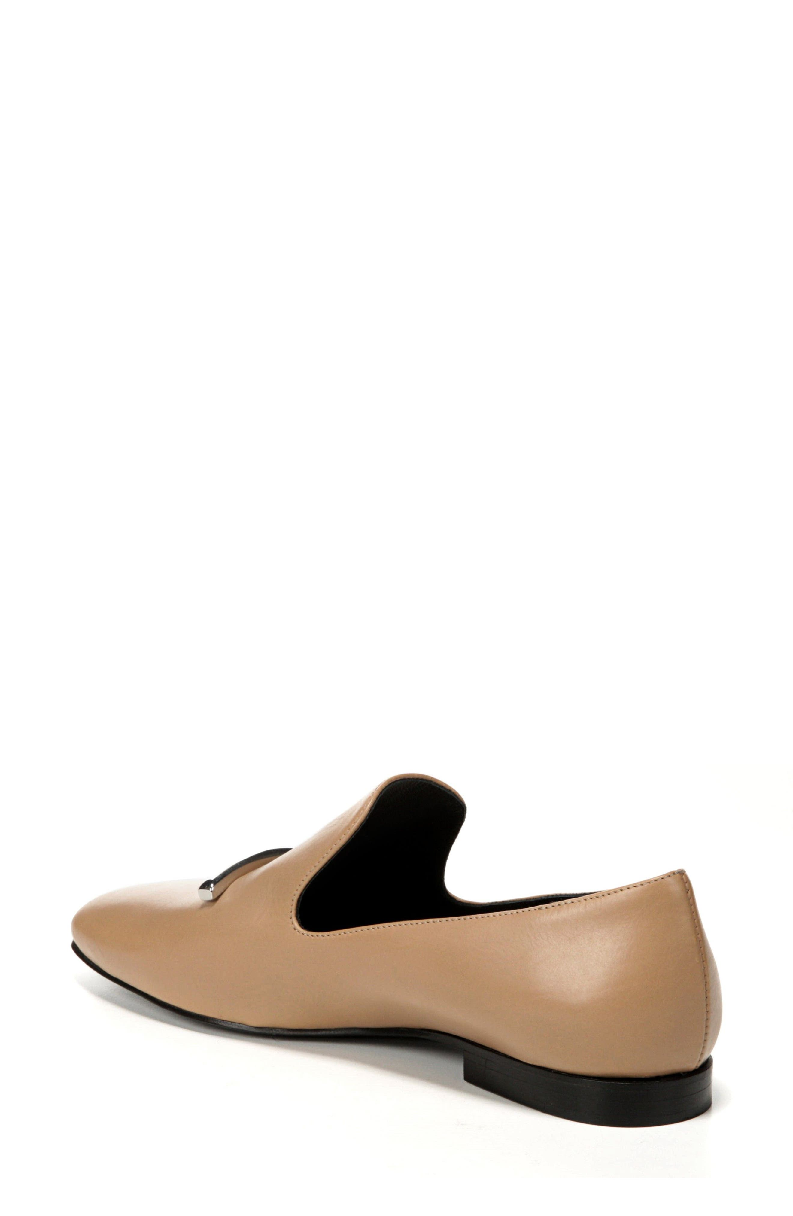 Tallis Flat Loafer,                             Alternate thumbnail 2, color,                             DESERT LEATHER